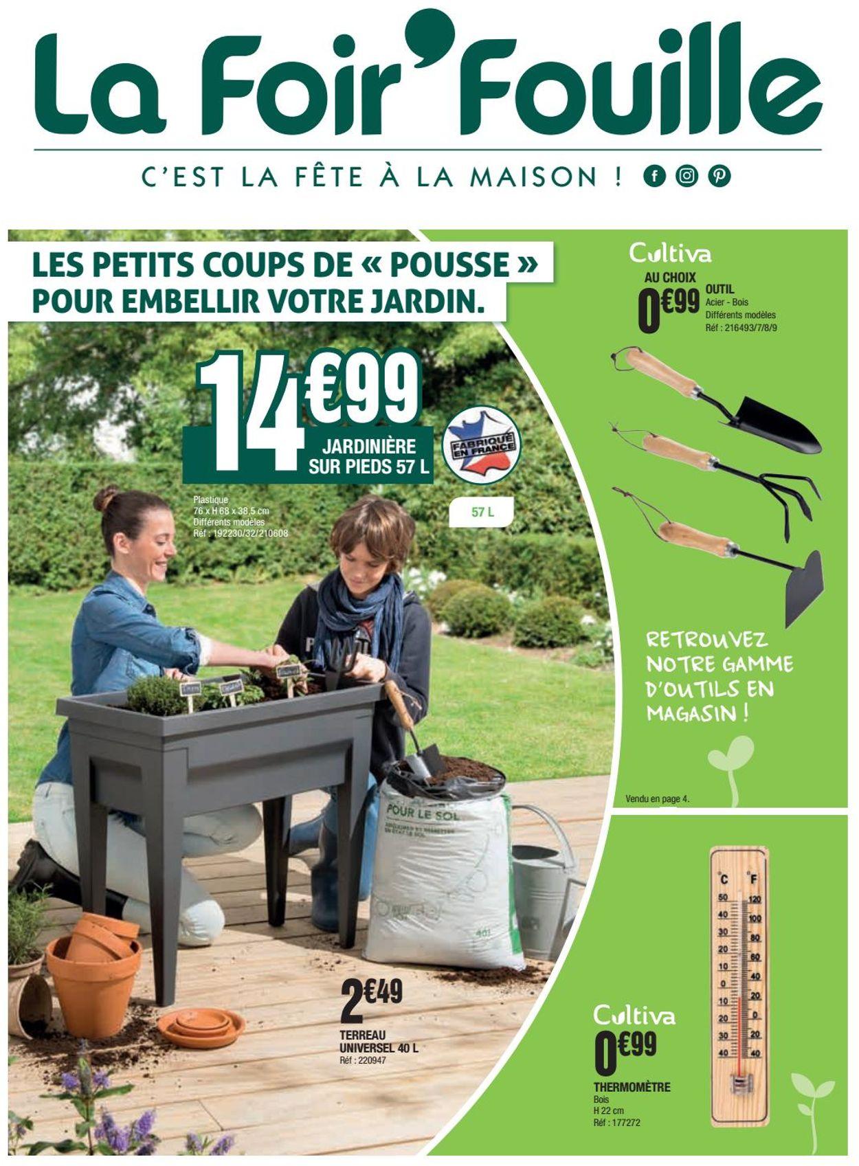 La Foir'Fouille Catalogue - 21.02-13.03.2020