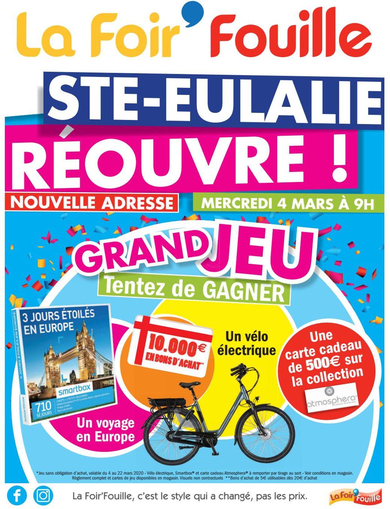 La Foir'Fouille Catalogue - 04.03-22.03.2020