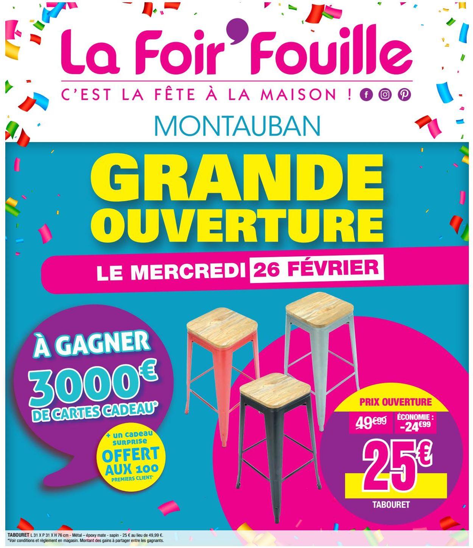 La Foir'Fouille Catalogue - 26.02-03.03.2020