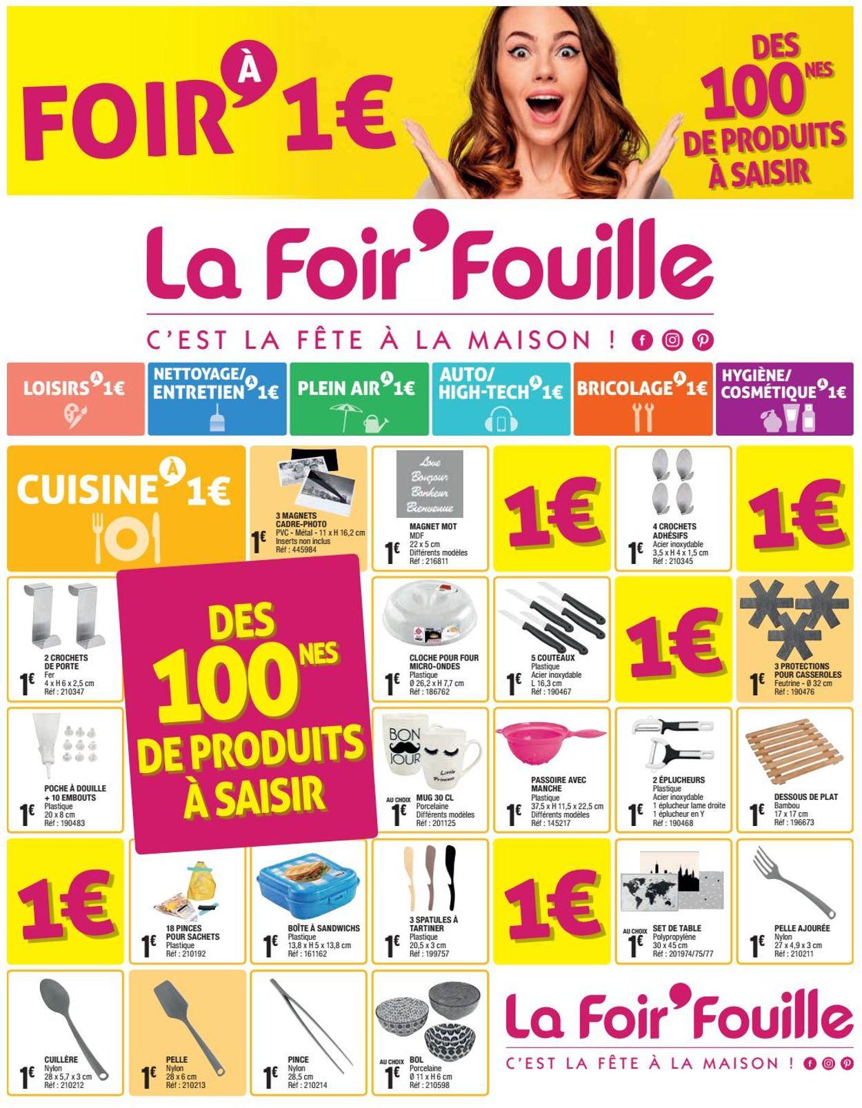 La Foir'Fouille Catalogue - 16.03-21.03.2020