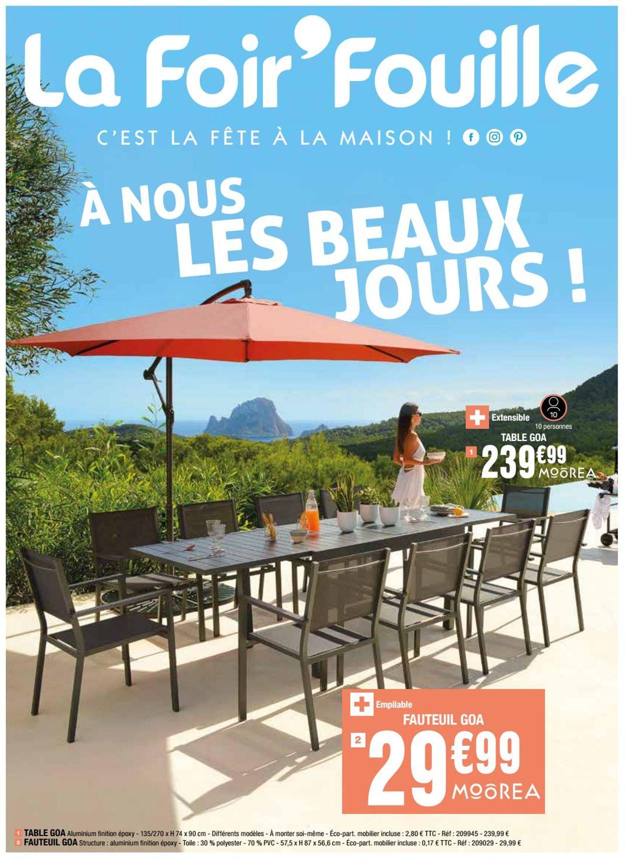 La Foir'Fouille Catalogue - 12.05-30.06.2020