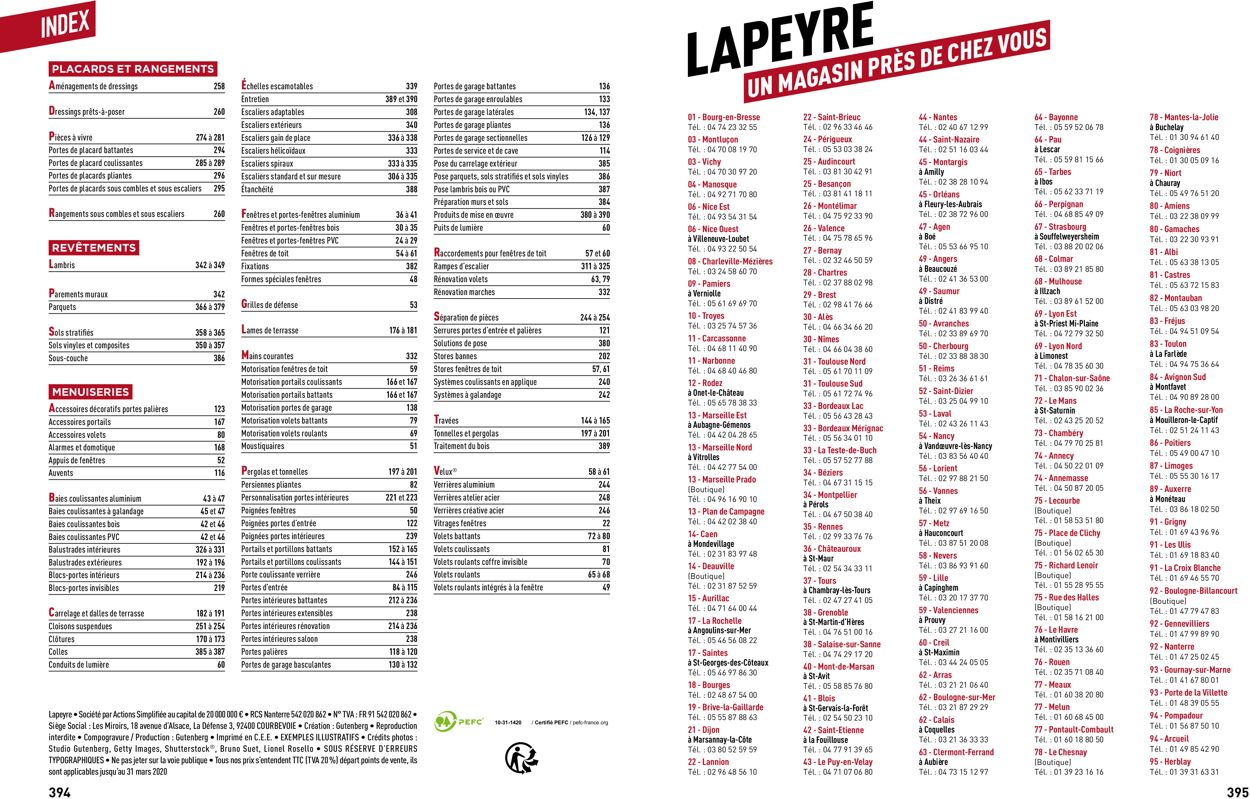 Lapeyre Catalogue - 19.03-30.09.2020 (Page 198)