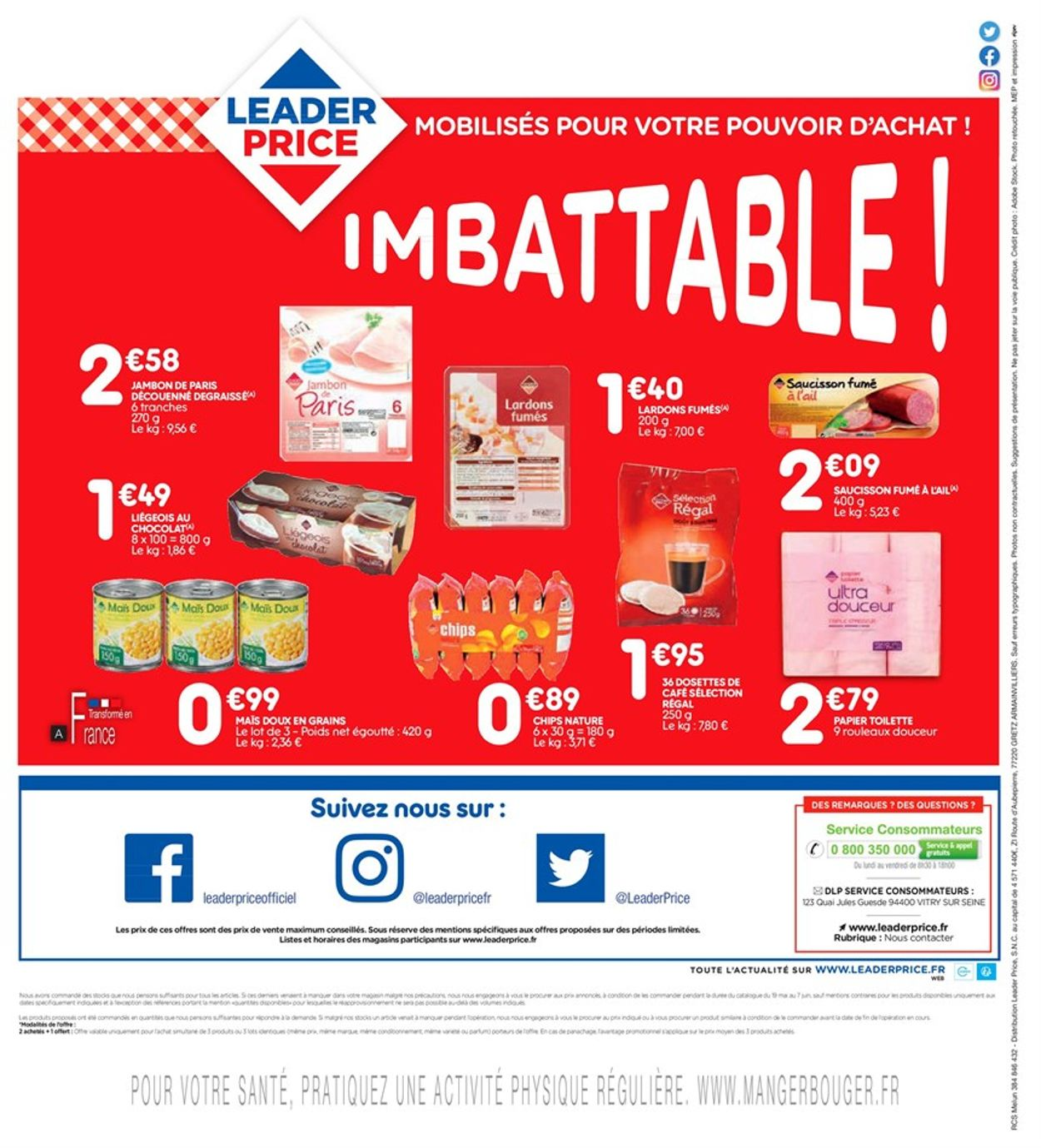 Leader Price Catalogue - 09.06-14.06.2020 (Page 4)