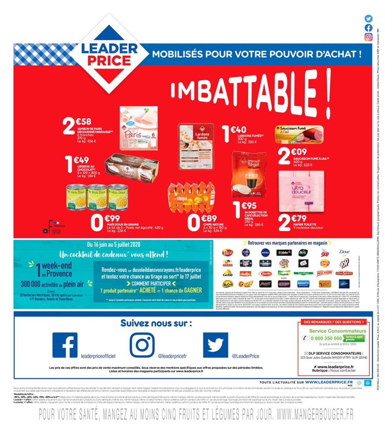 Leader Price Catalogue - 16.06-28.06.2020 (Page 8)