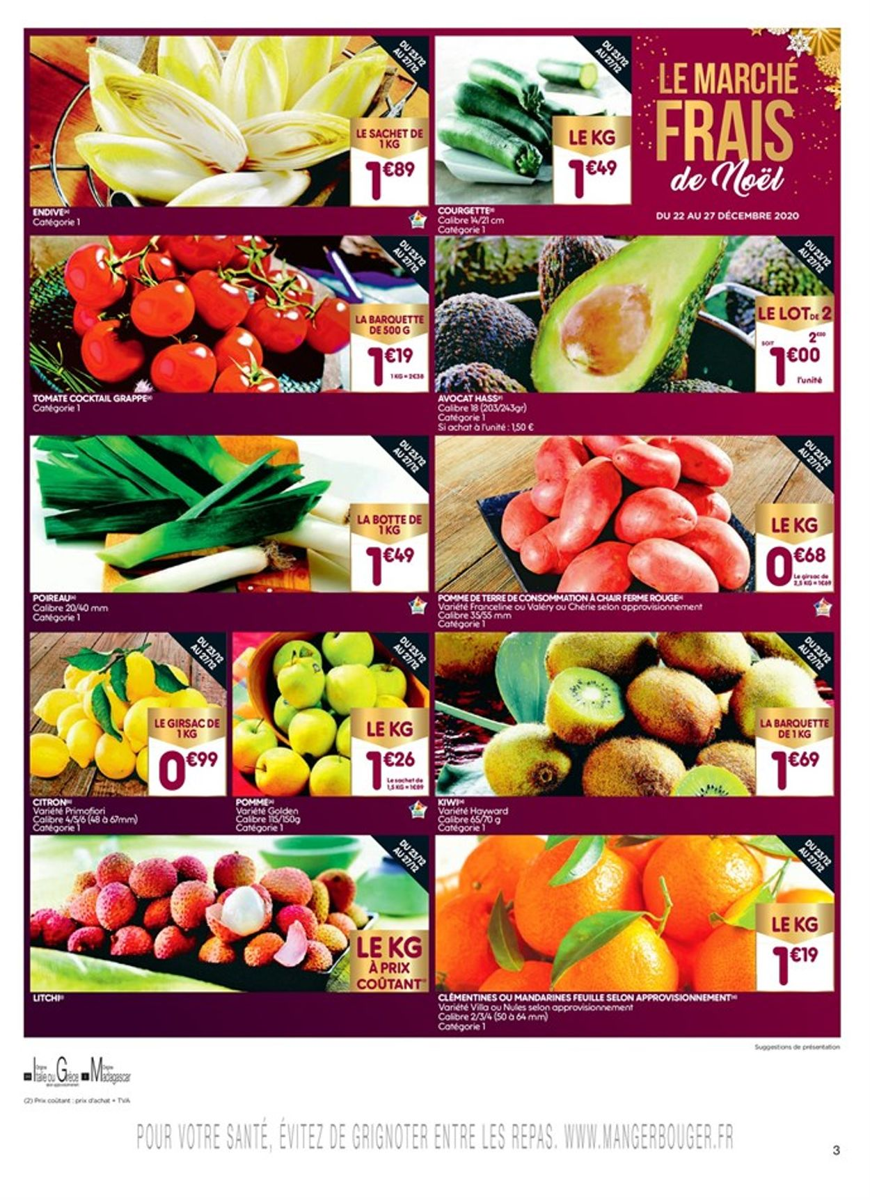 Leader Price Les promos 2020 Catalogue - 21.12-03.01.2021 (Page 3)
