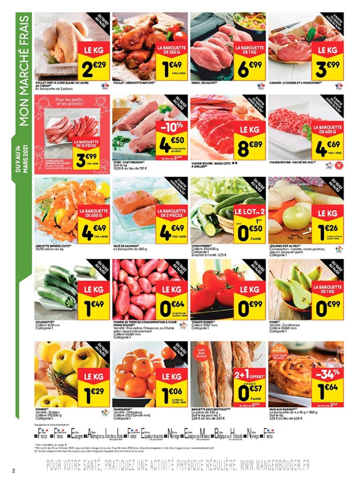 Leader Price Catalogue - 09.03-21.03.2021 (Page 2)