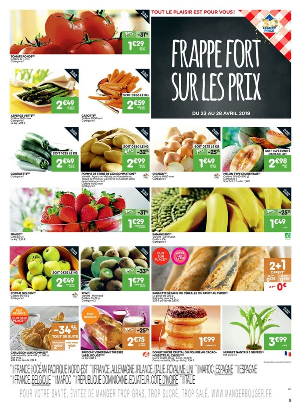 Leader Price Catalogue - 23.04-05.05.2019 (Page 9)