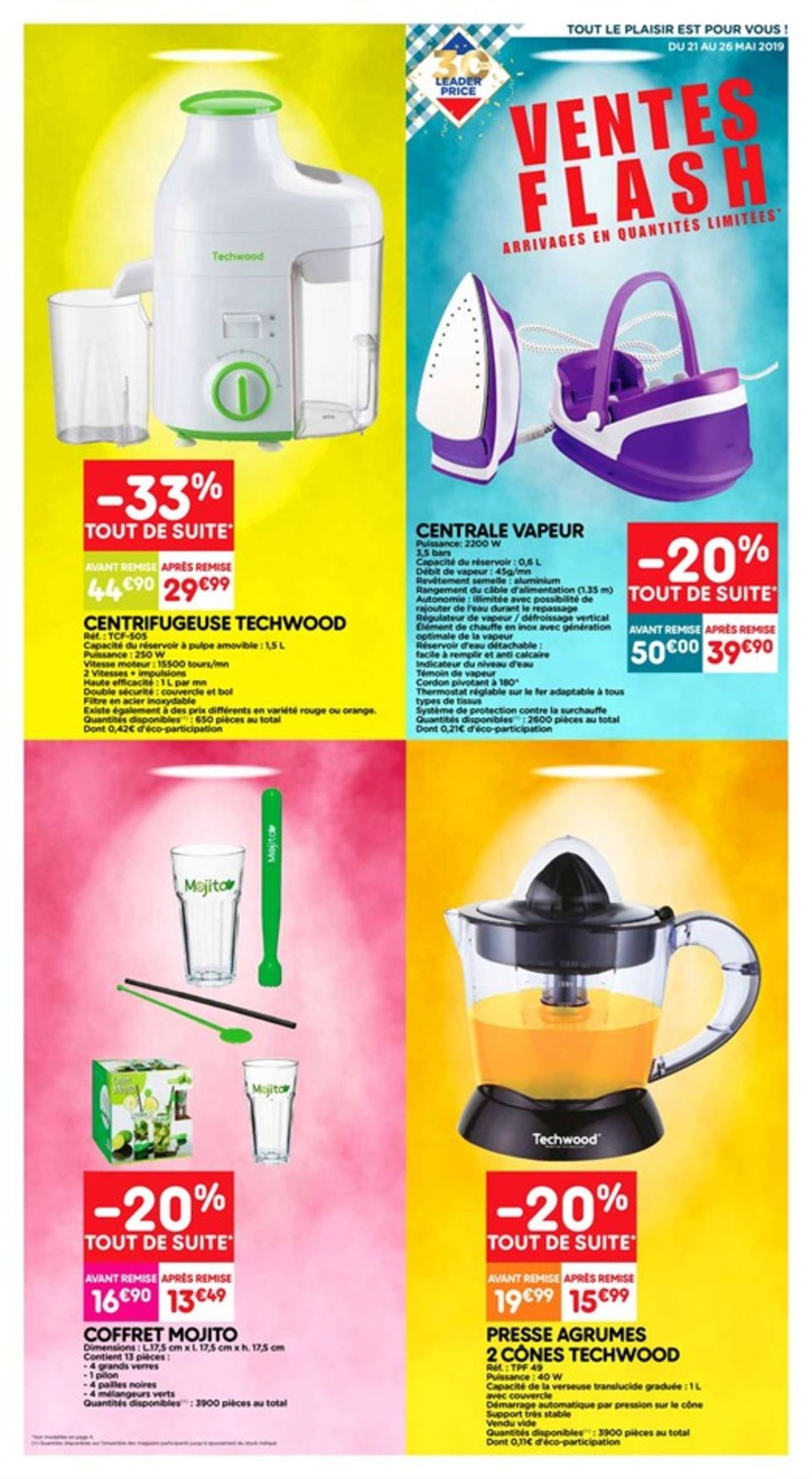 Leader Price Catalogue - 21.05-26.05.2019