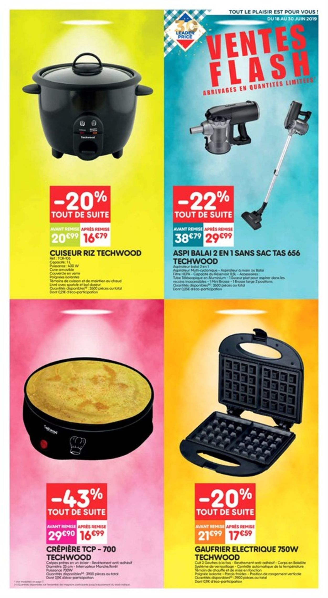 Leader Price Catalogue - 18.06-30.06.2019
