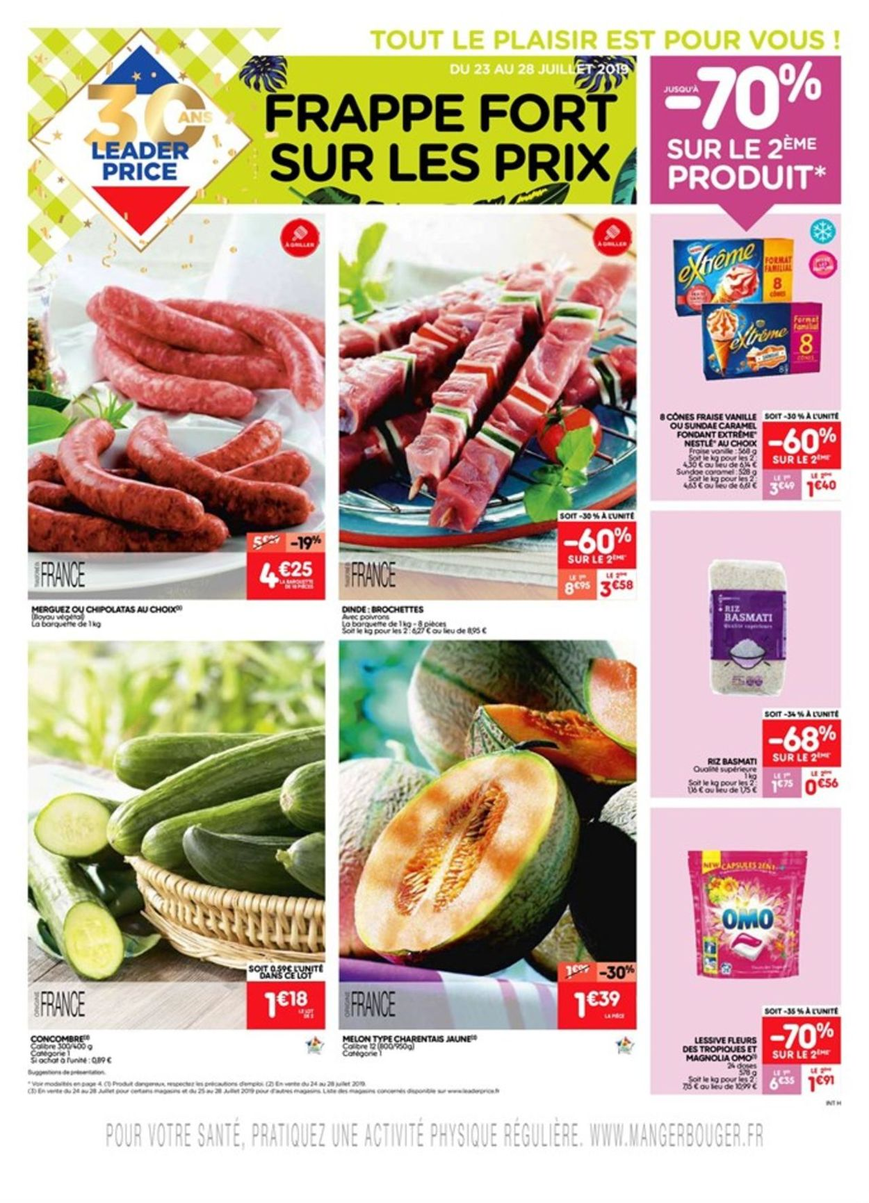 Leader Price Catalogue - 23.07-28.07.2019