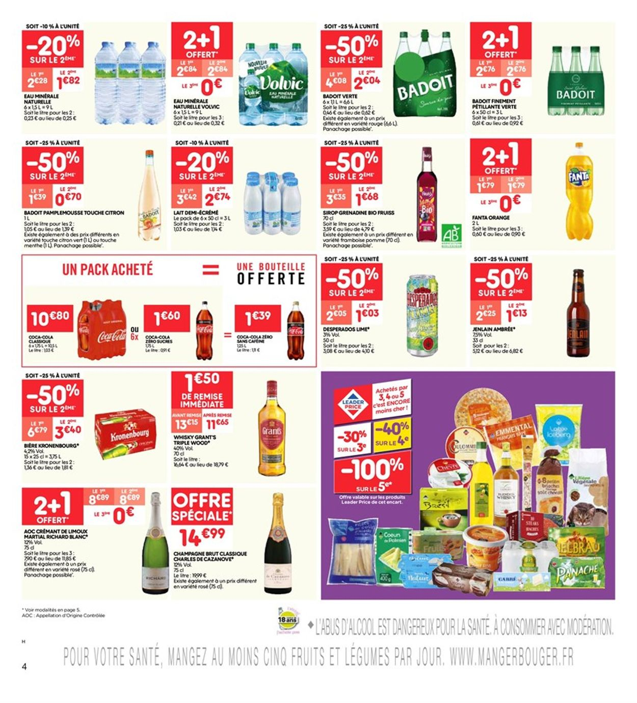 Leader Price Catalogue - 22.10-03.11.2019 (Page 4)