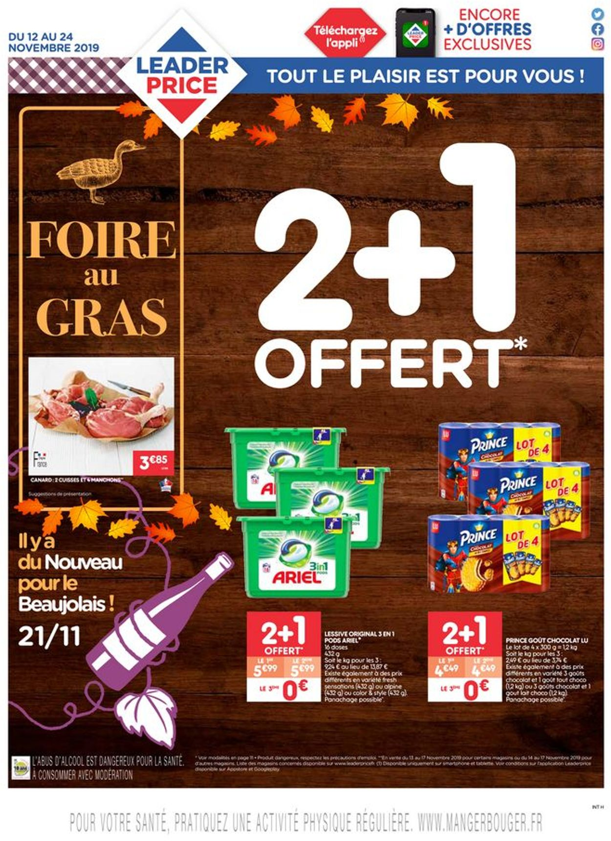 Leader Price Catalogue - 12.11-24.11.2019