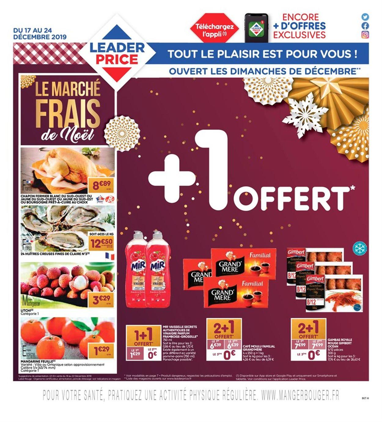 Leader Price catalogue de Noël 2019 Catalogue - 17.12-31.12.2019