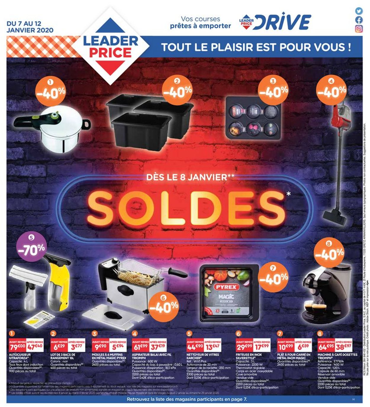 Leader Price Catalogue - 07.01-12.01.2020 (Page 8)