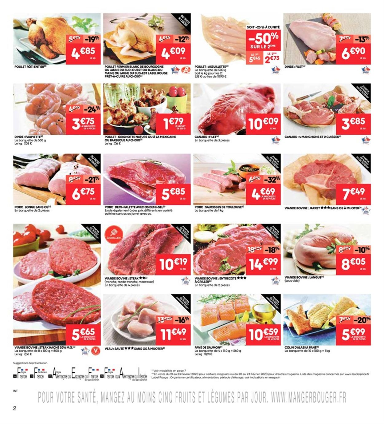 Leader Price Catalogue - 18.02-23.02.2020 (Page 2)