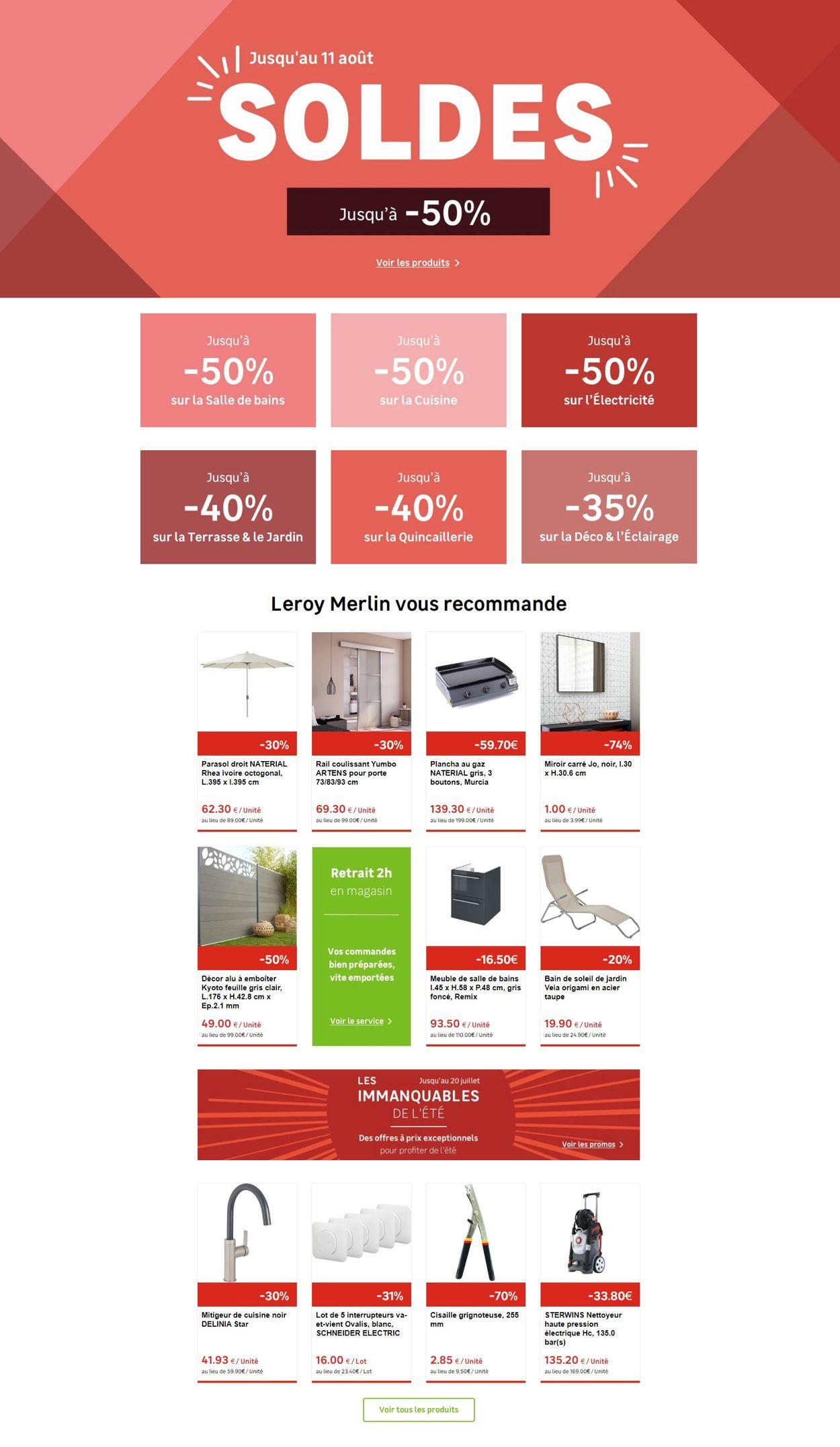 Leroy Merlin Catalogue - 20.07-27.07.2020