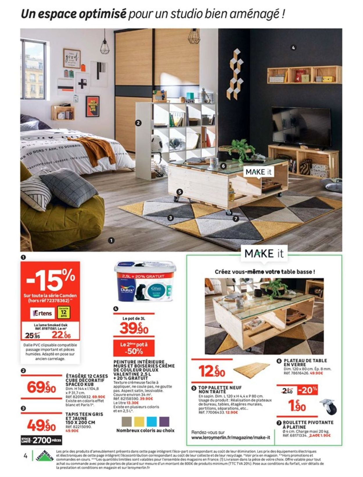 Leroy Merlin Catalogue - 14.08-02.09.2019 (Page 4)