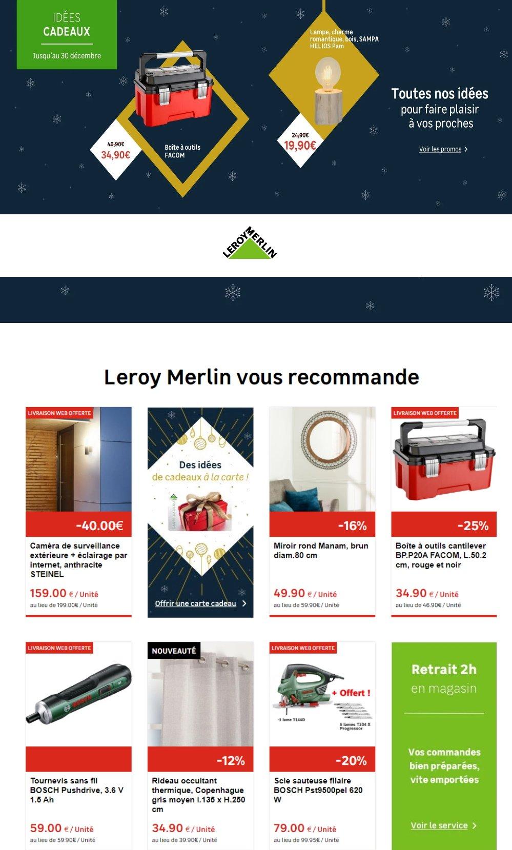 Leroy Merlin Catalogue - 17.12-30.12.2019