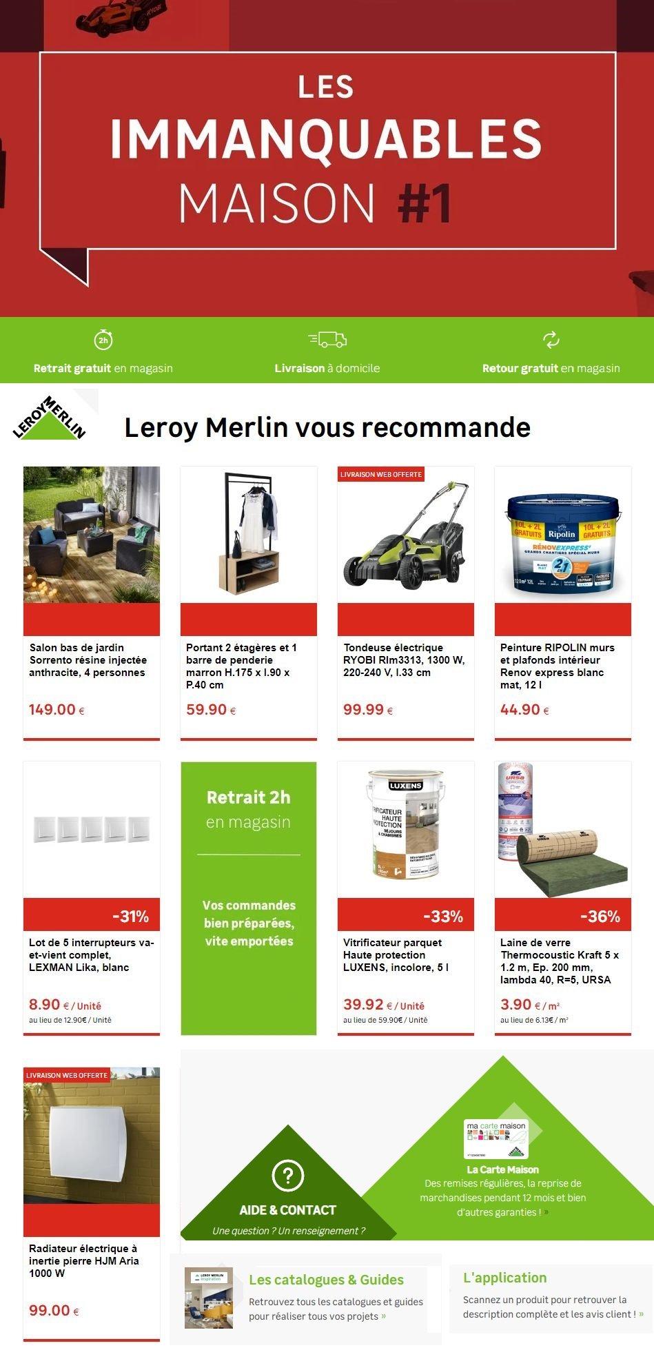 Leroy Merlin Catalogue - 04.03-11.03.2020