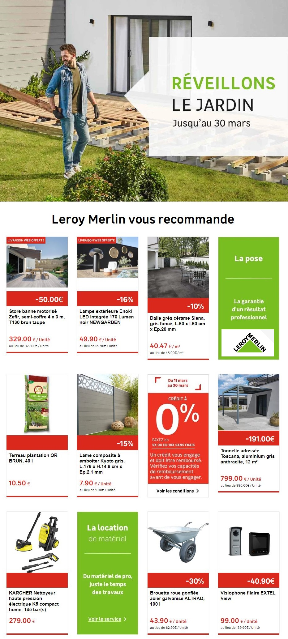 Leroy Merlin Catalogue - 12.03-19.03.2020