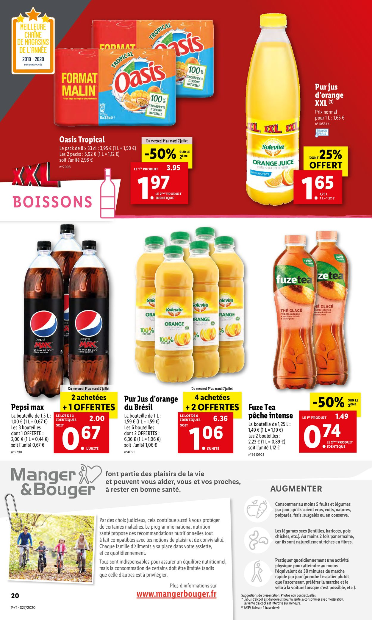 Lidl Catalogue - 01.07-07.07.2020 (Page 20)