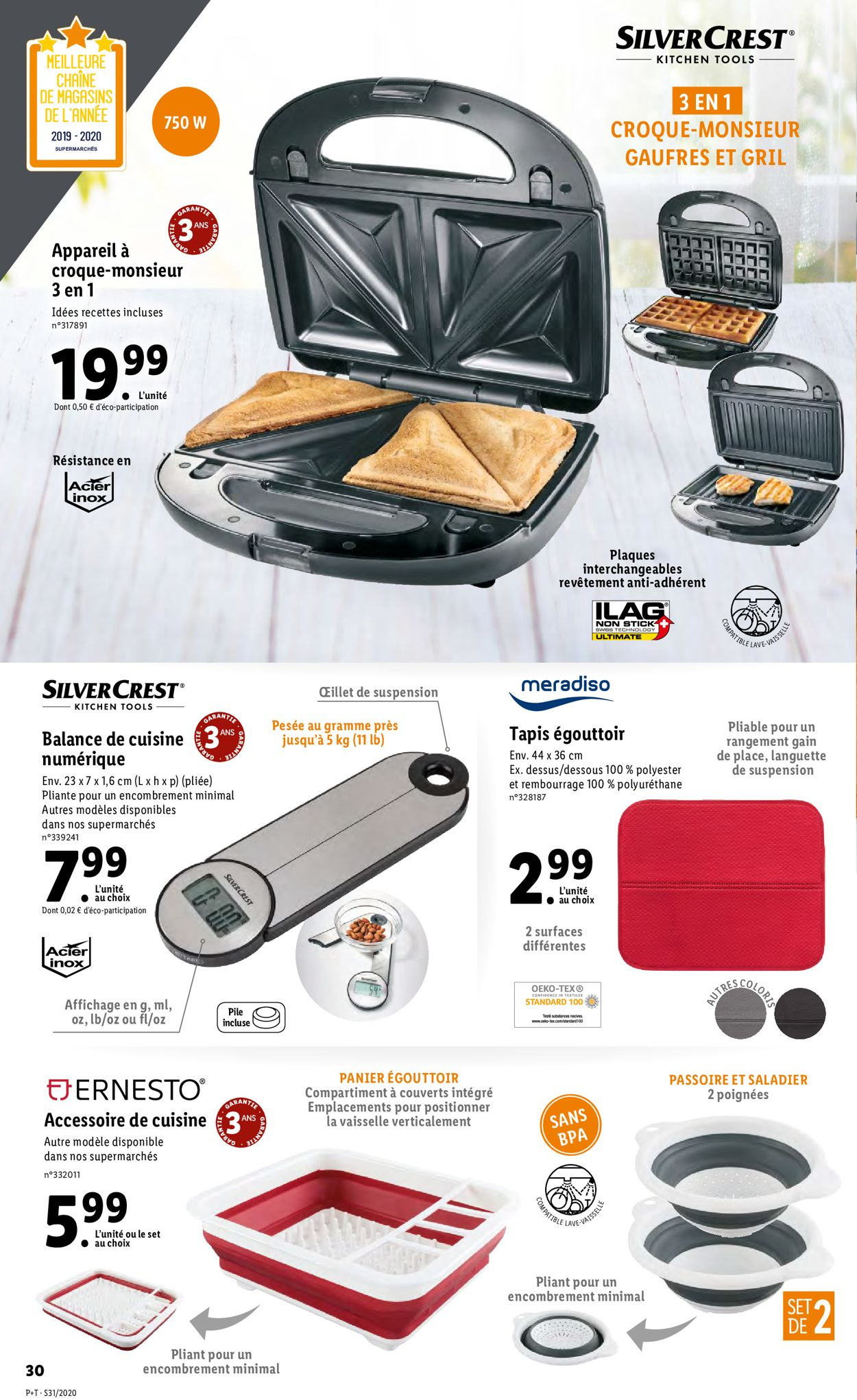 Lidl Catalogue - 29.07-04.08.2020 (Page 30)