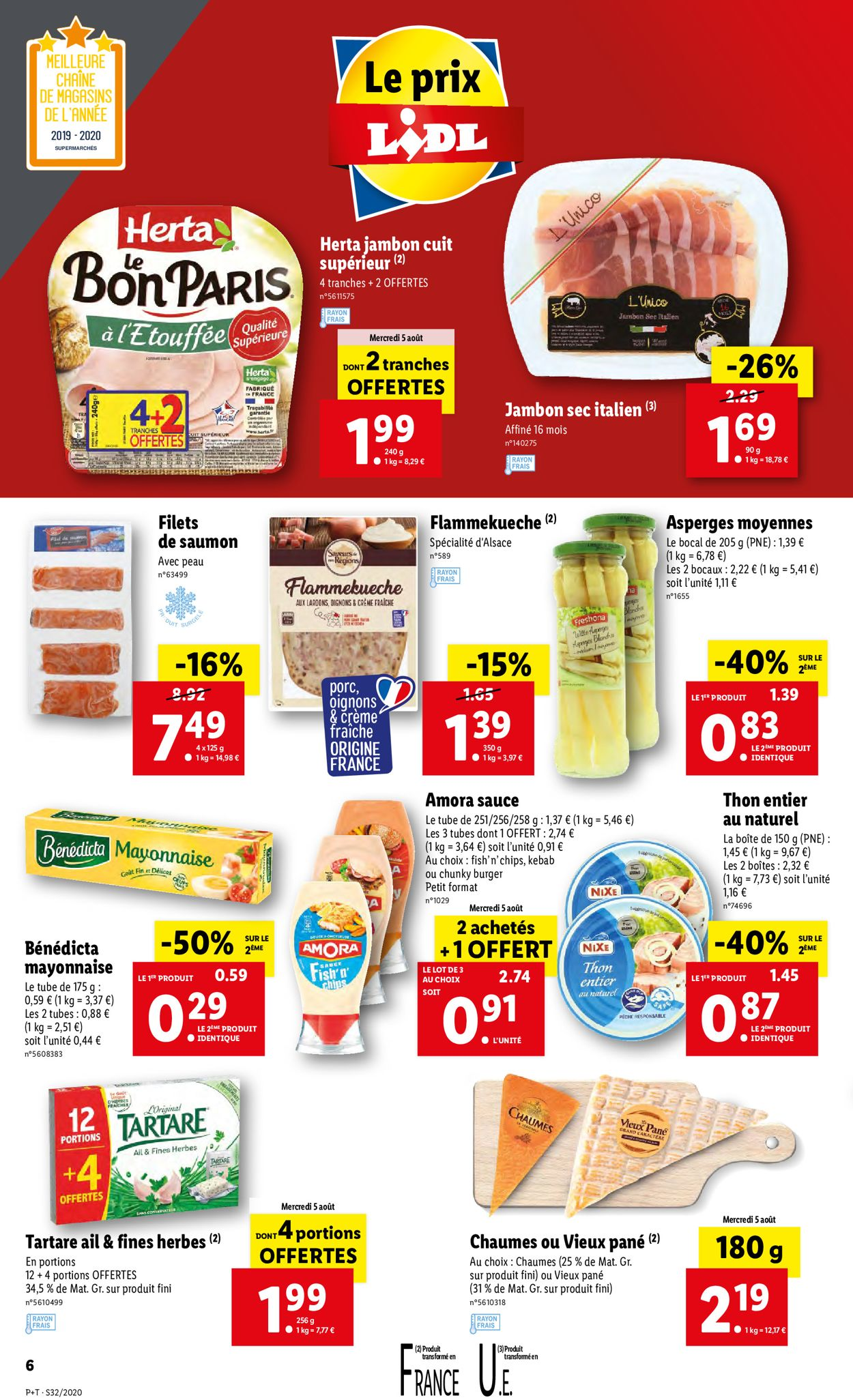 Lidl Catalogue - 05.08-11.08.2020 (Page 6)