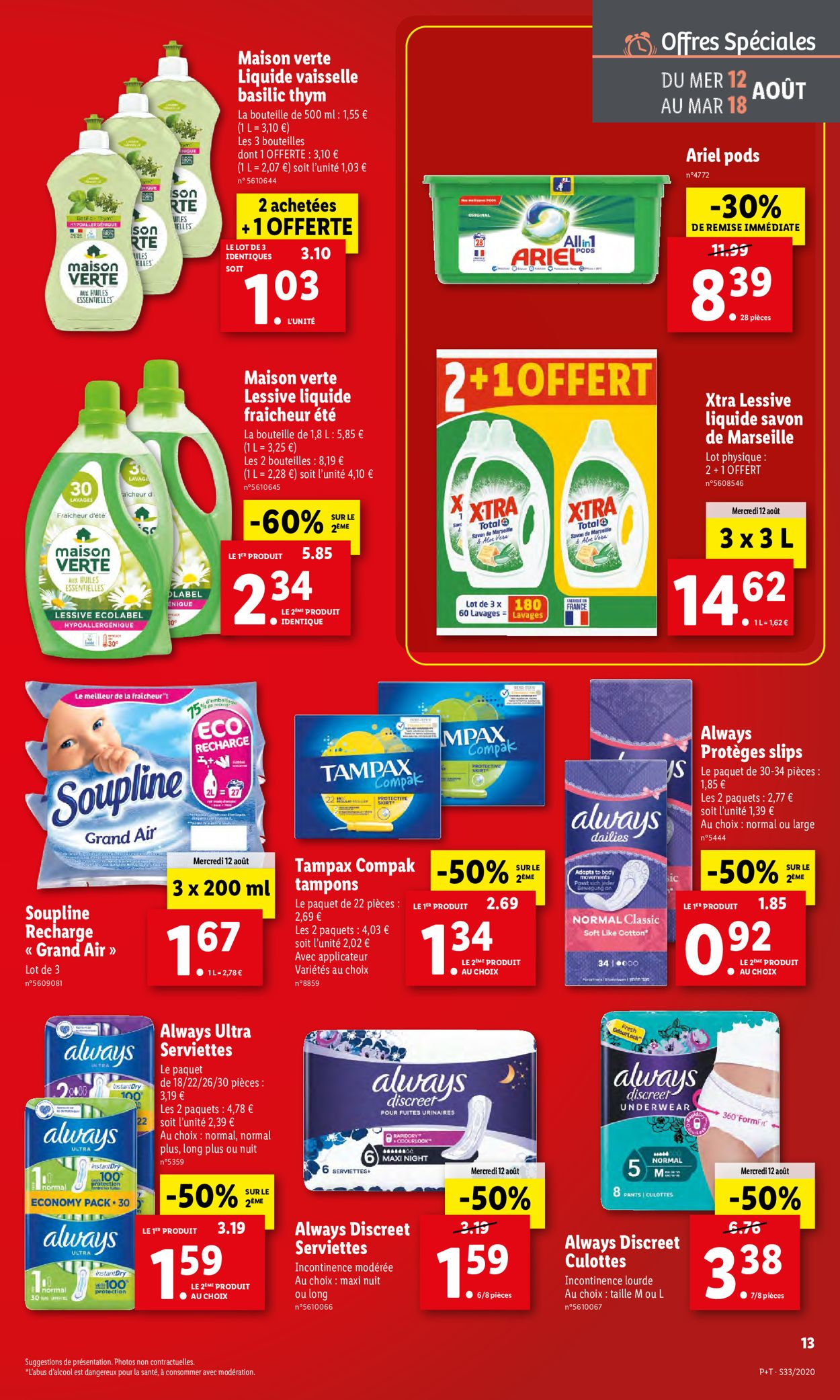 Lidl Catalogue - 12.08-18.08.2020 (Page 13)