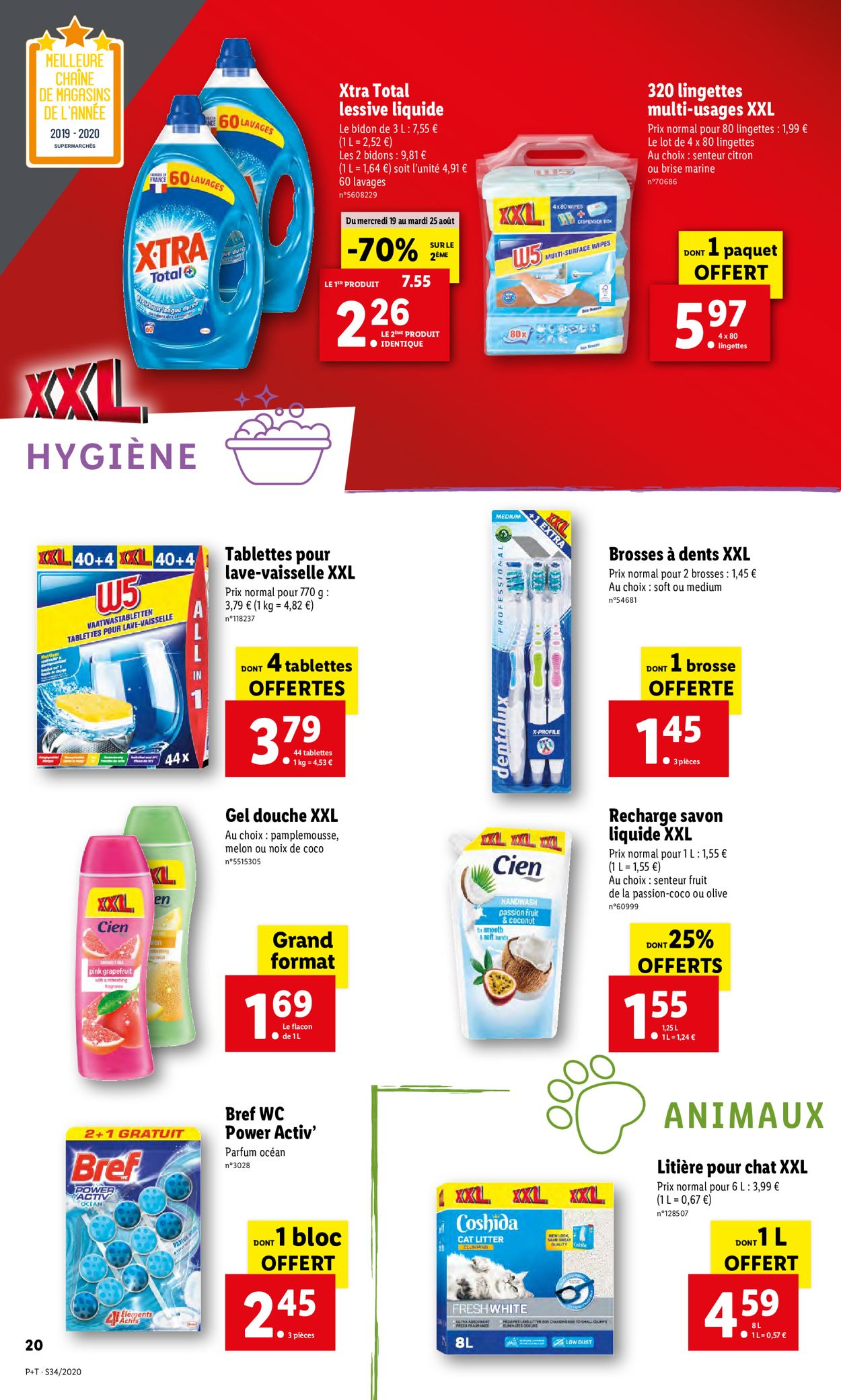 Lidl Catalogue - 19.08-25.08.2020 (Page 20)