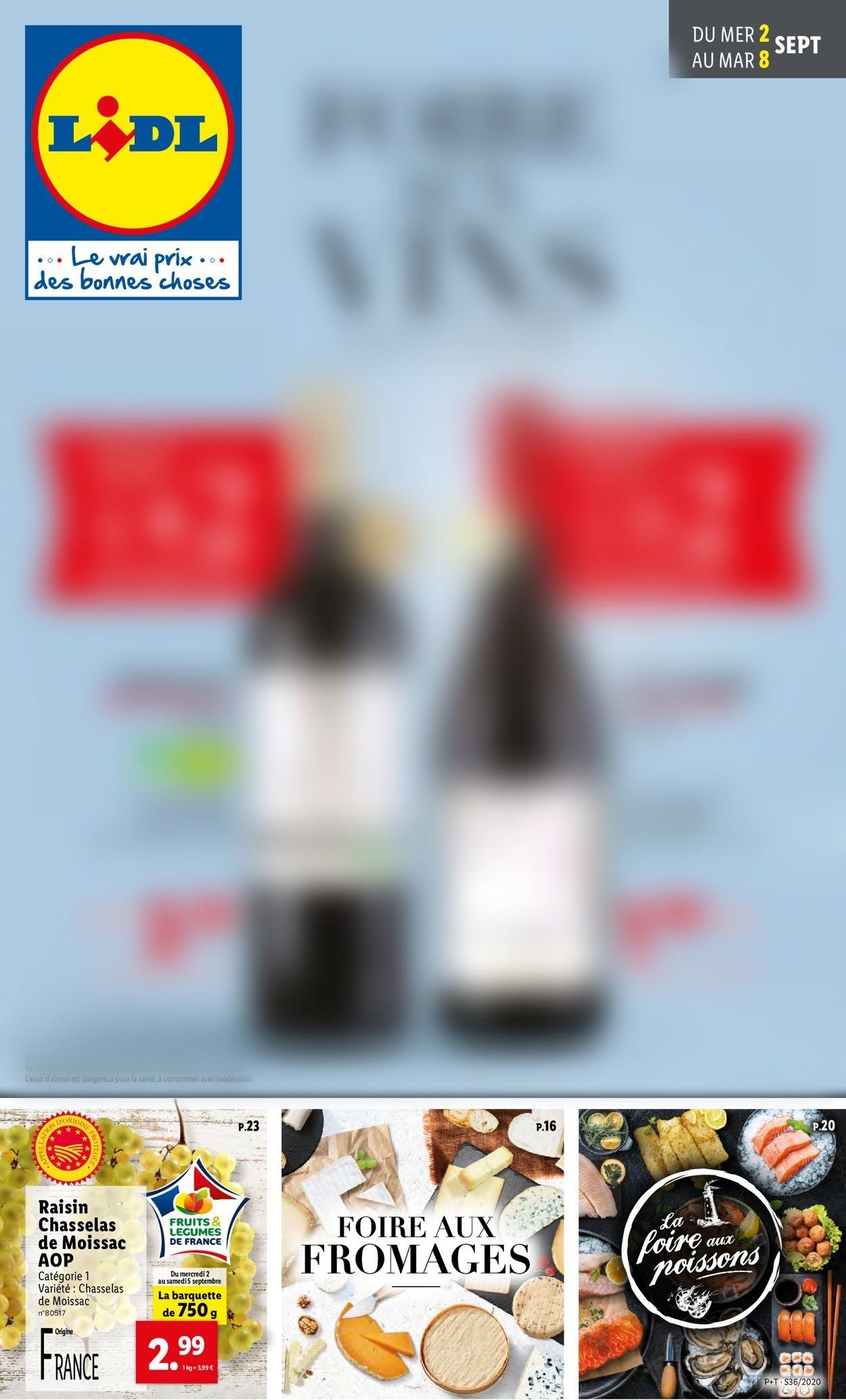 Lidl Catalogue - 02.09-08.09.2020