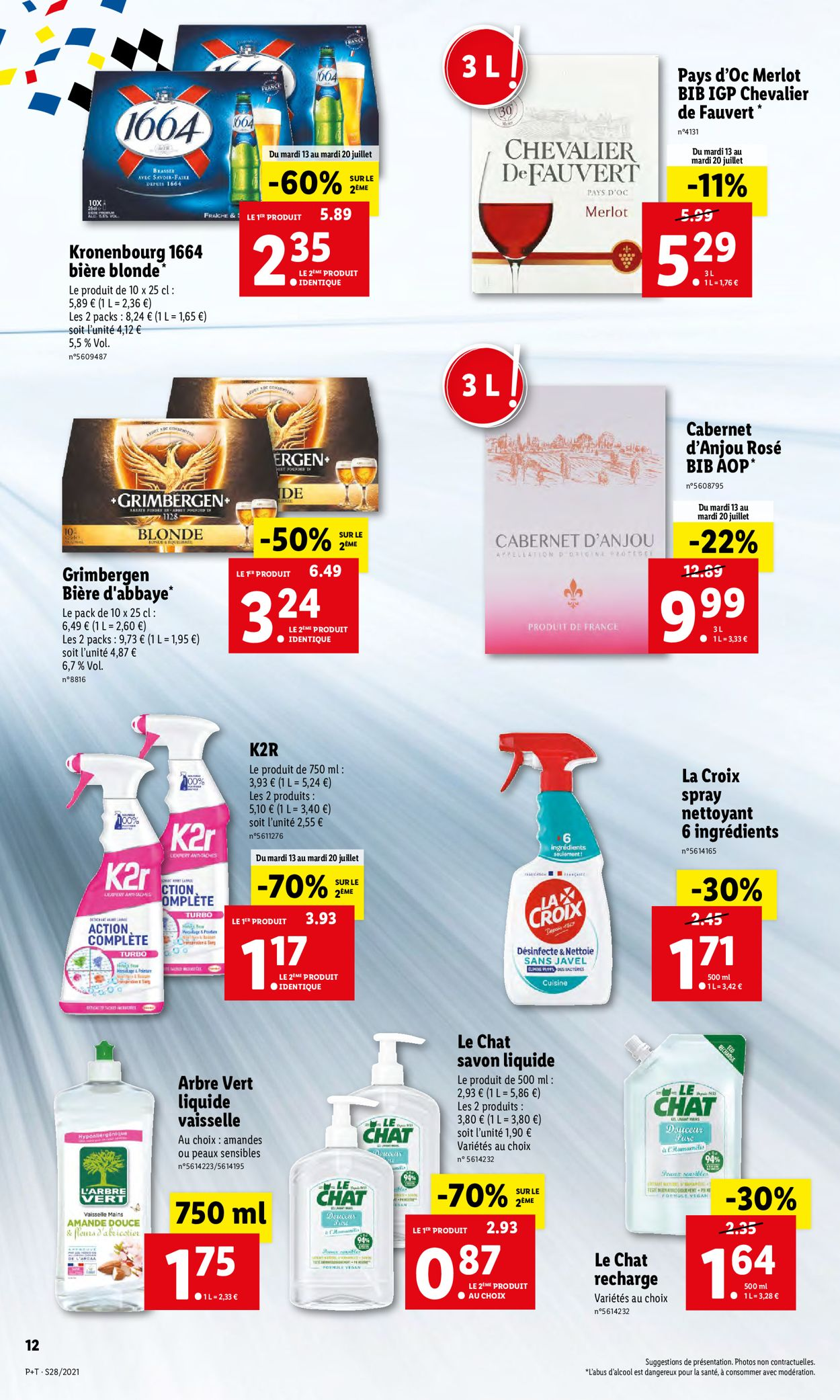 Lidl Catalogue - 13.07-20.07.2021 (Page 14)