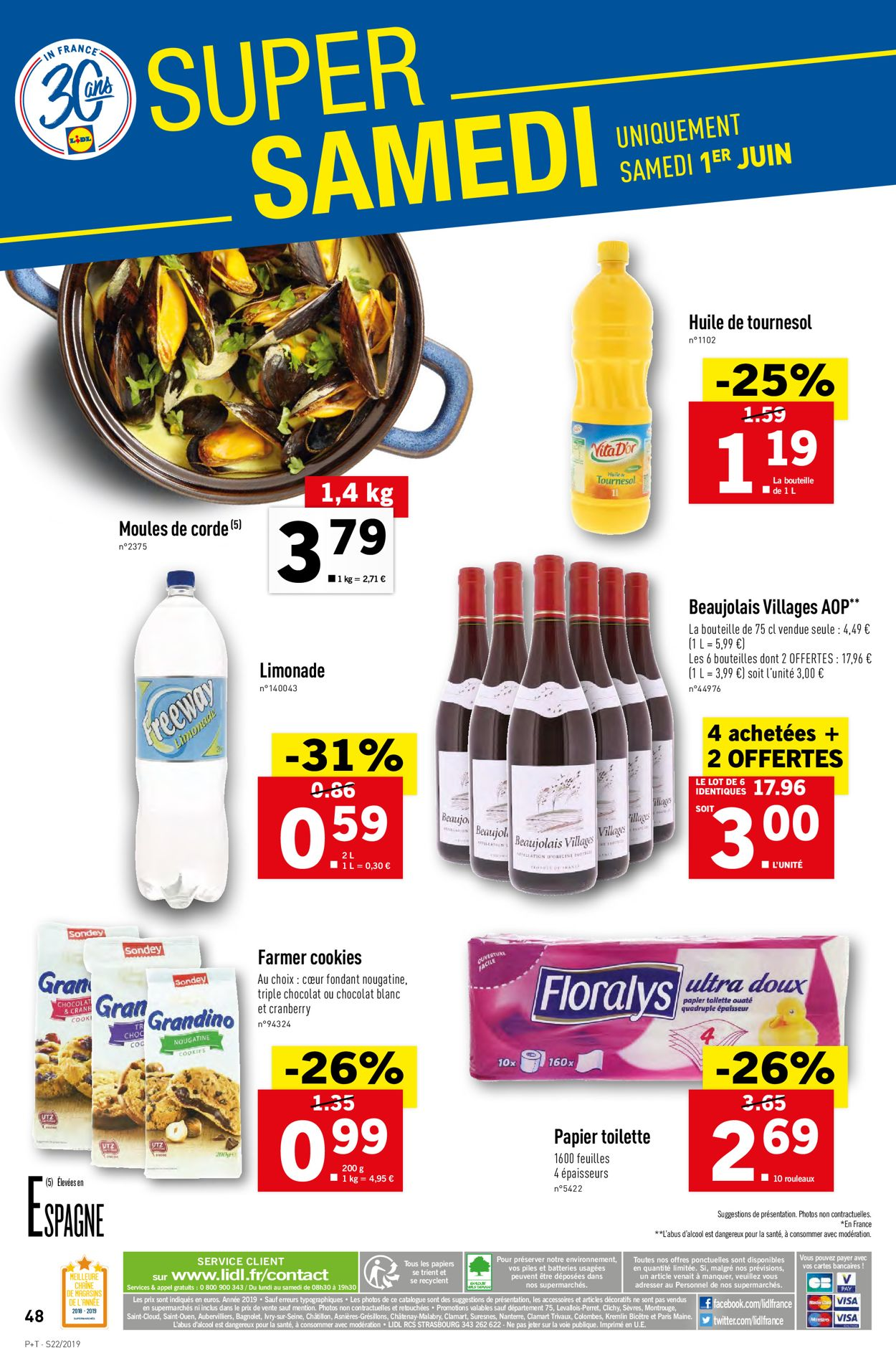 Lidl Catalogue - 29.05-04.06.2019 (Page 50)