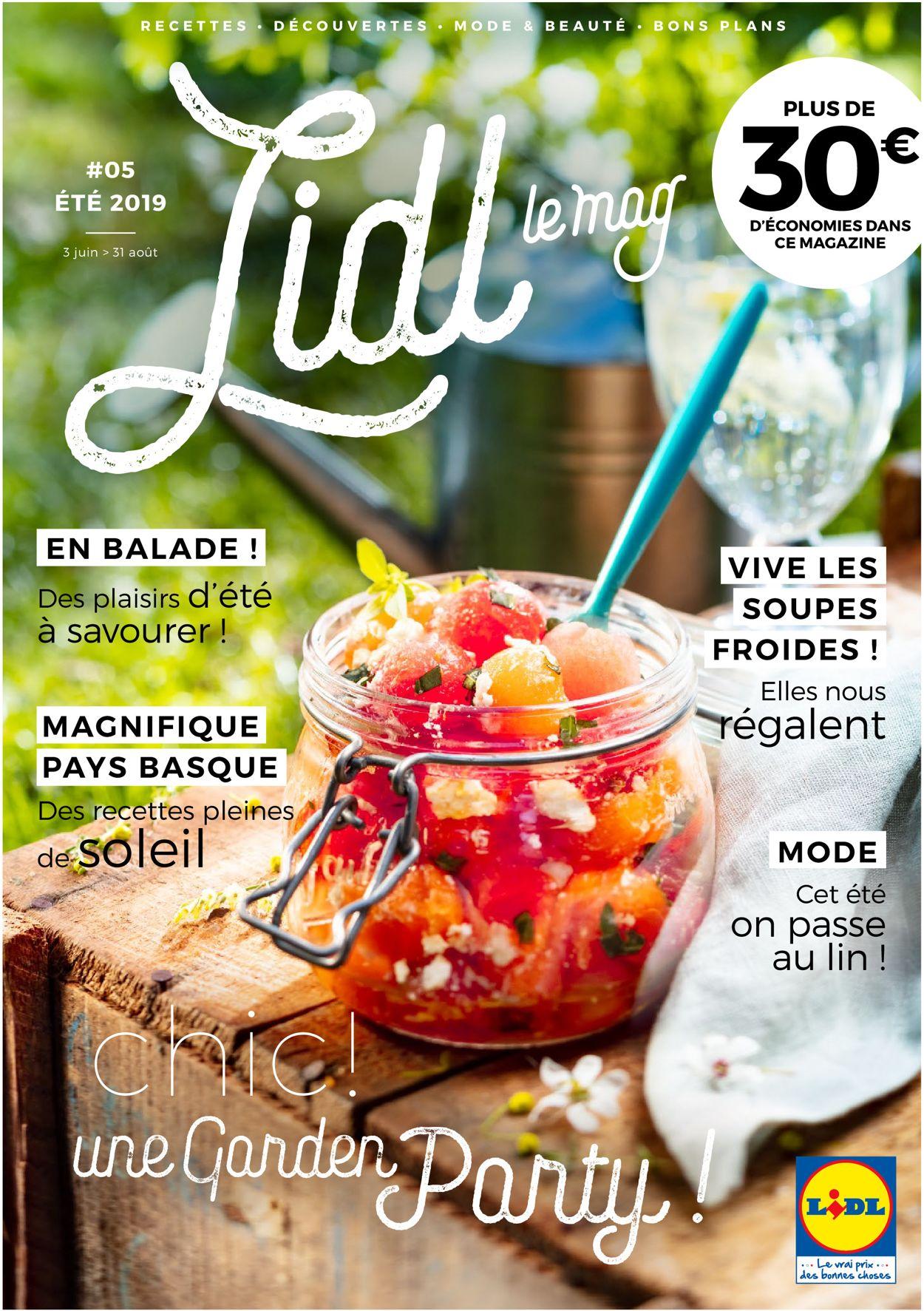 Lidl Catalogue - 03.06-31.08.2019