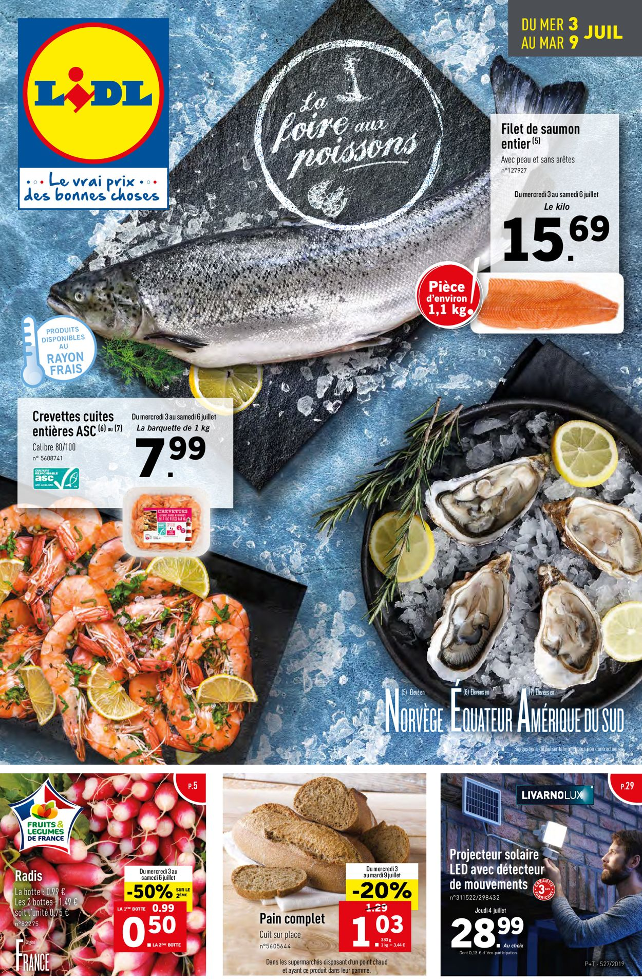 Lidl Catalogue - 03.07-09.07.2019