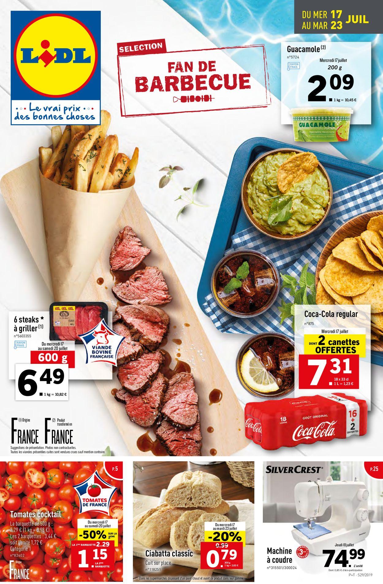 Lidl Catalogue - 17.07-23.07.2019