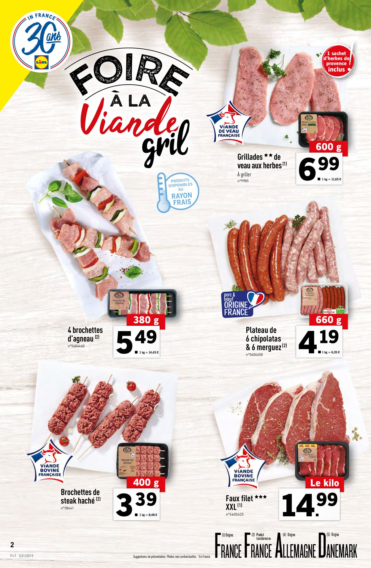 Lidl Catalogue - 31.07-06.08.2019 (Page 2)