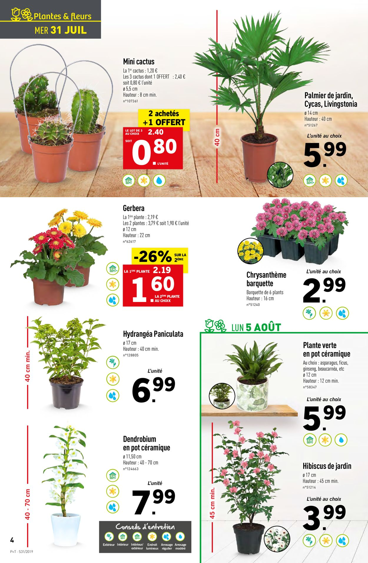 Lidl Catalogue - 31.07-06.08.2019 (Page 4)
