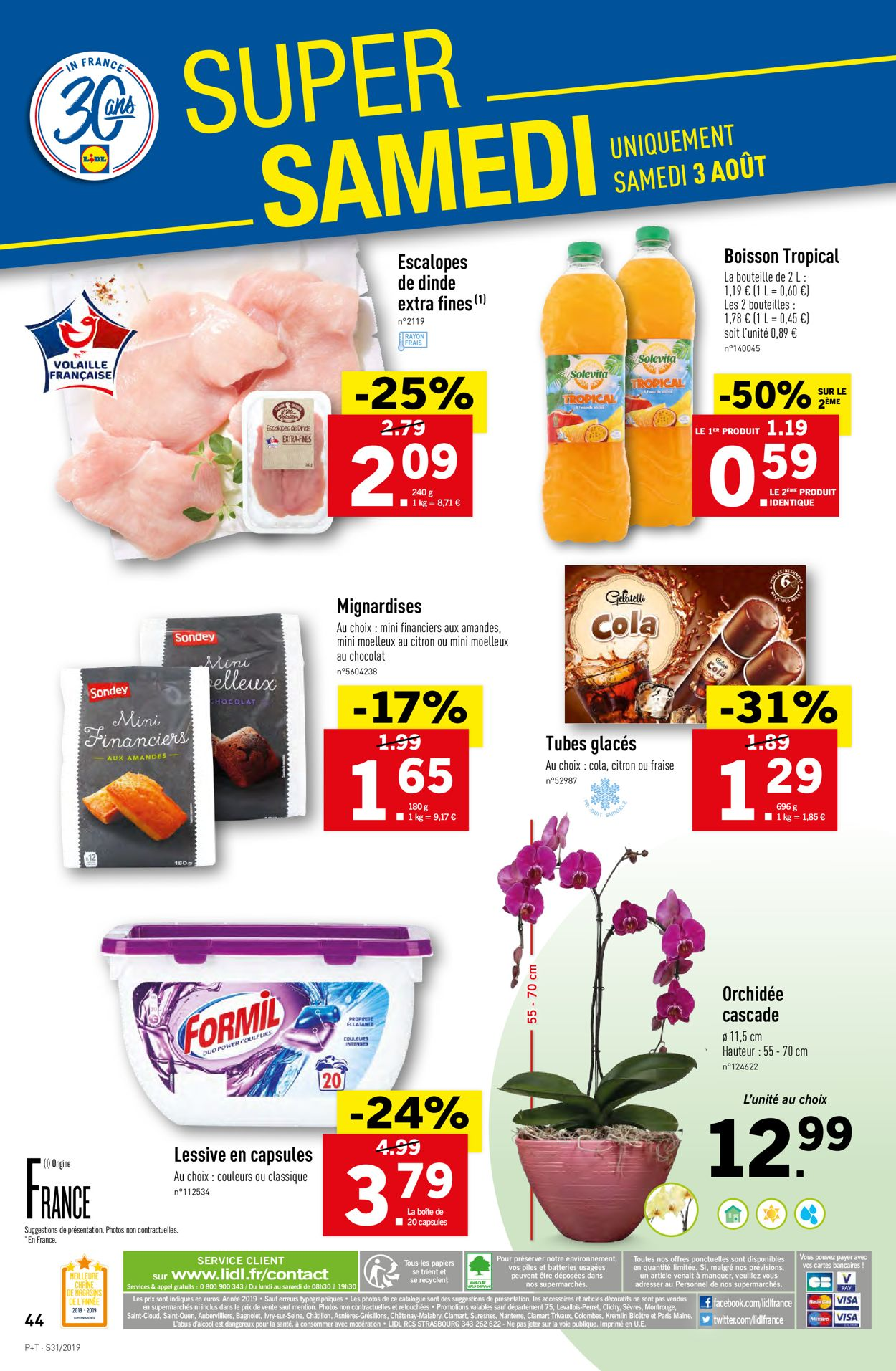 Lidl Catalogue - 31.07-06.08.2019 (Page 46)