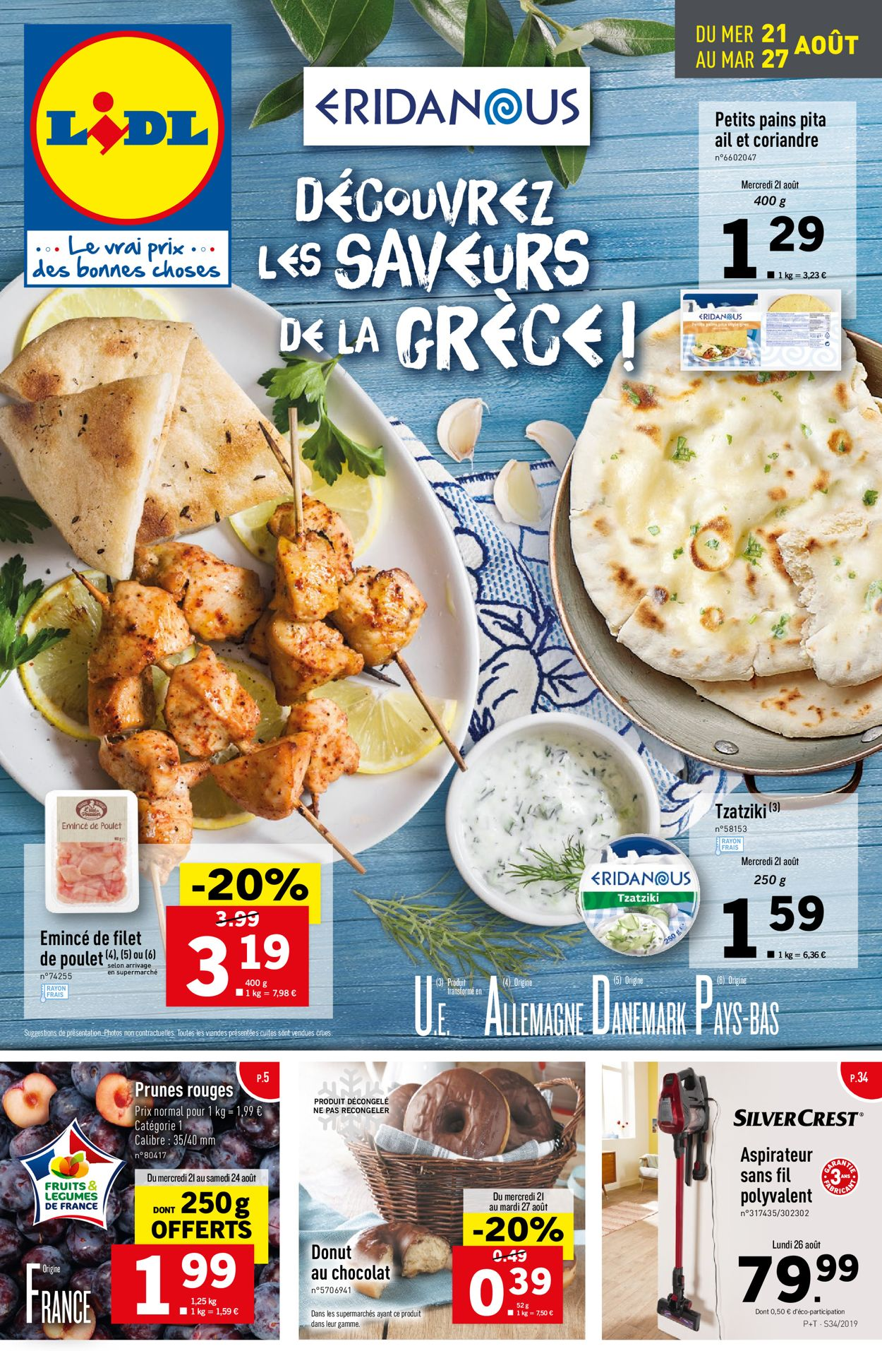 Lidl Catalogue - 21.08-27.08.2019