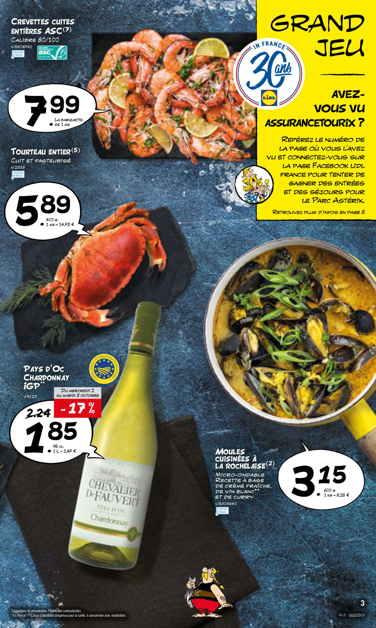 Lidl Catalogue - 02.10-08.10.2019 (Page 3)