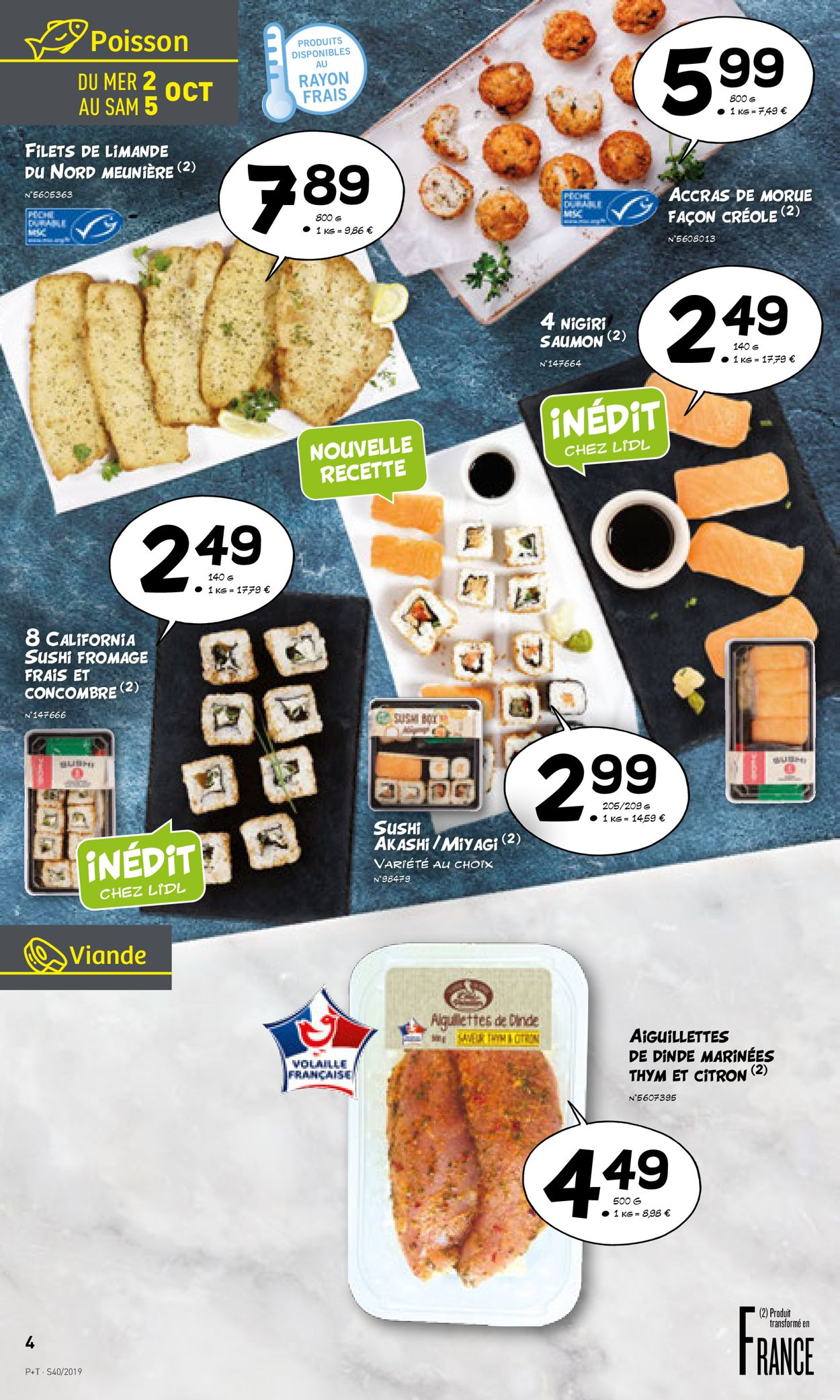 Lidl Catalogue - 02.10-08.10.2019 (Page 4)
