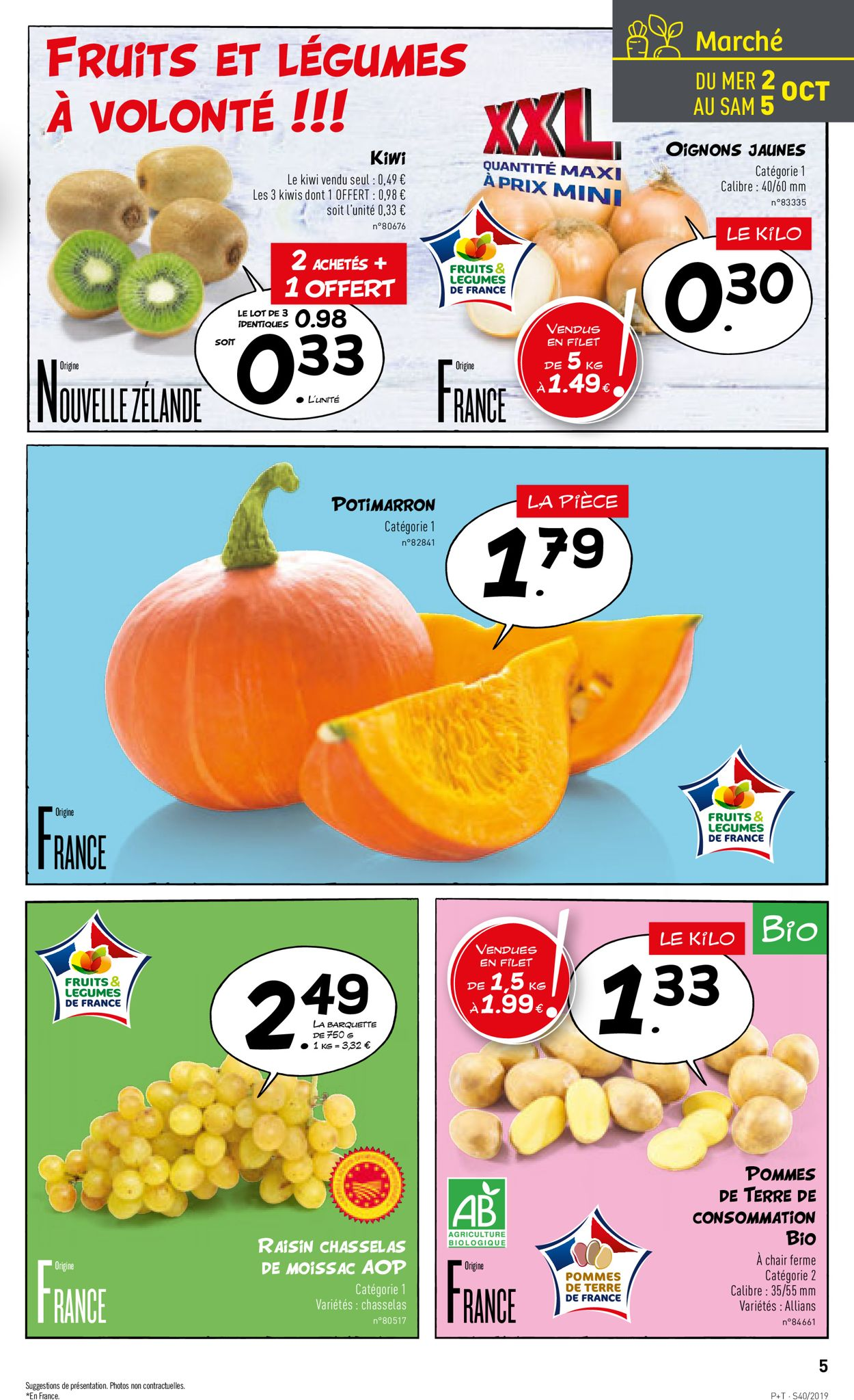 Lidl Catalogue - 02.10-08.10.2019 (Page 5)