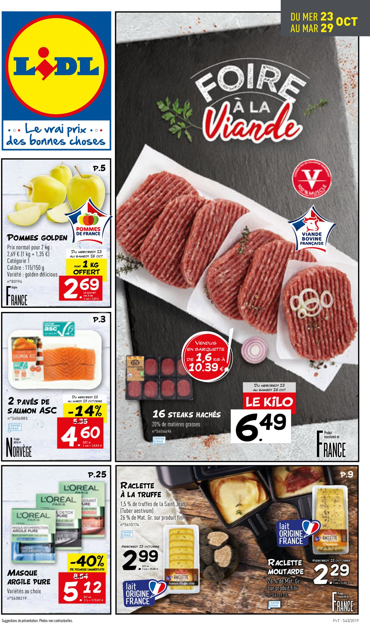 Lidl Catalogue - 23.10-29.10.2019