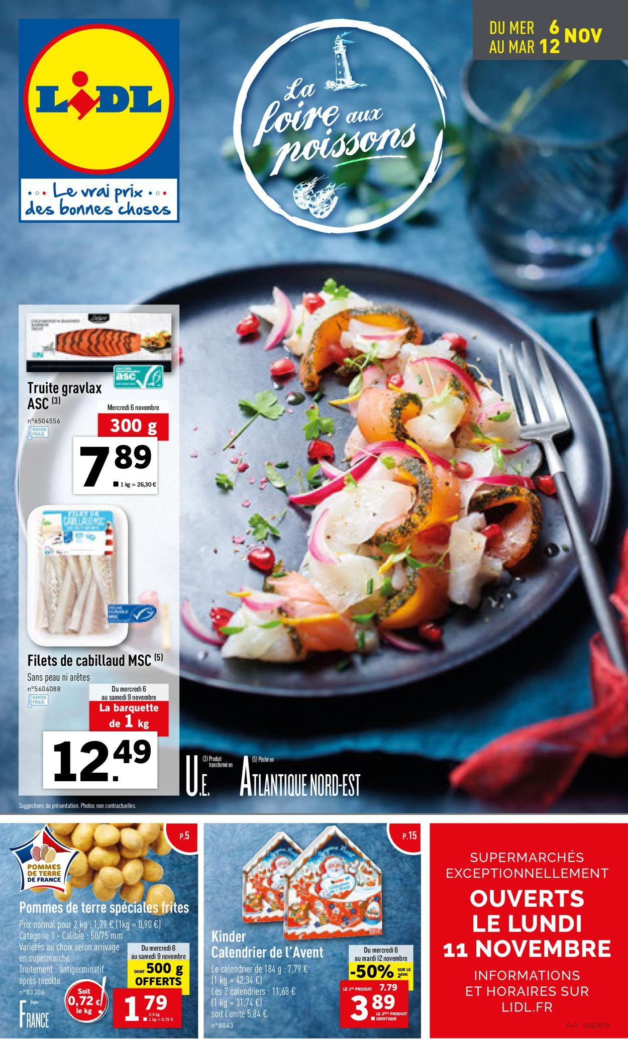 Lidl Catalogue - 06.11-12.11.2019