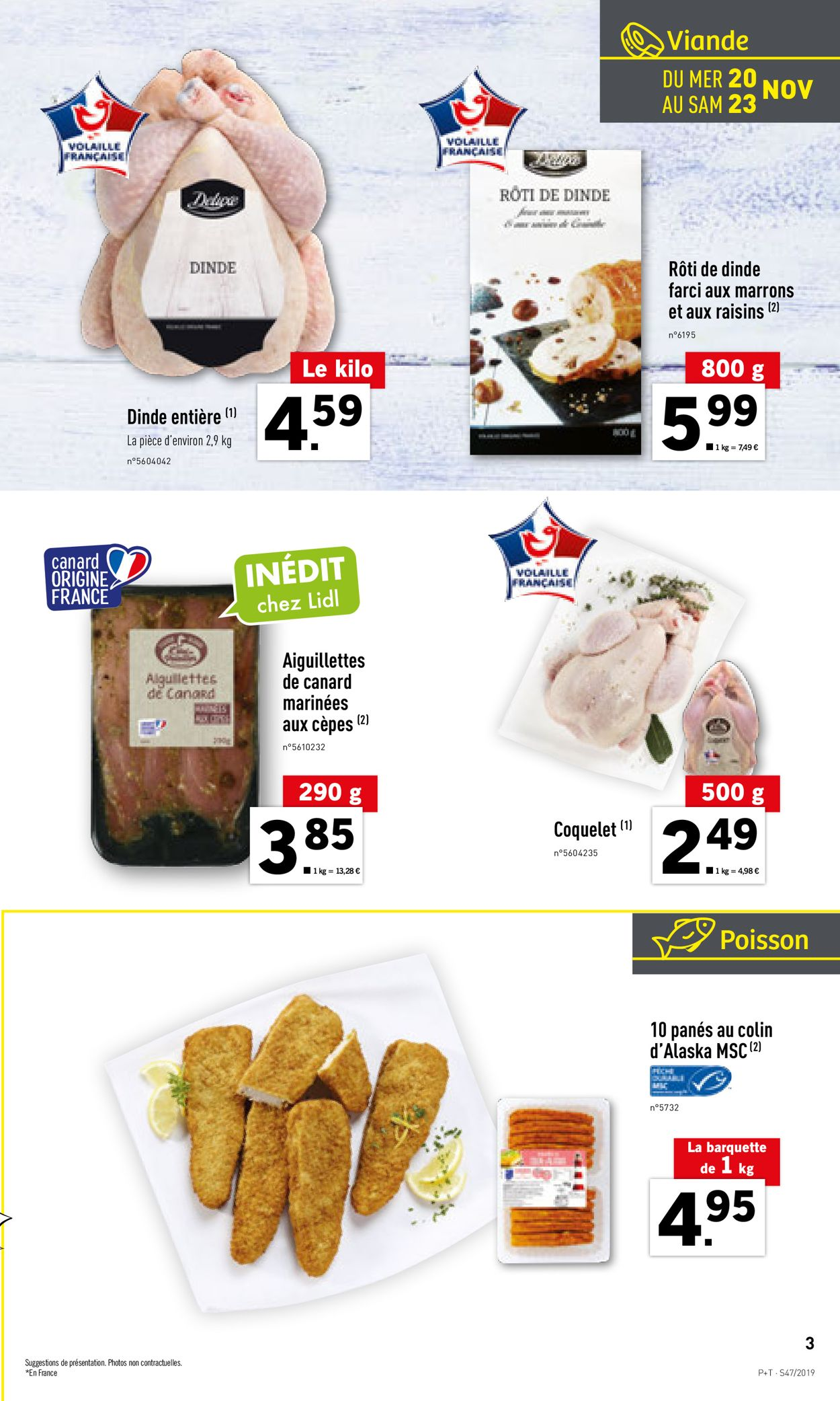 Lidl Catalogue - 20.11-26.11.2019 (Page 3)
