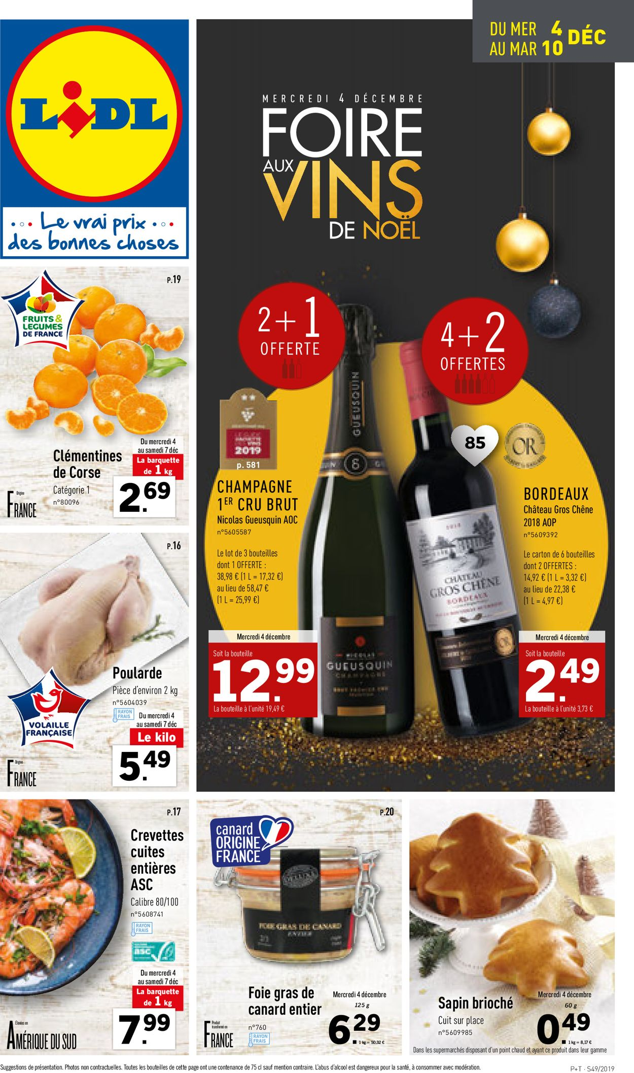 Lidl Catalogue - 04.12-10.12.2019