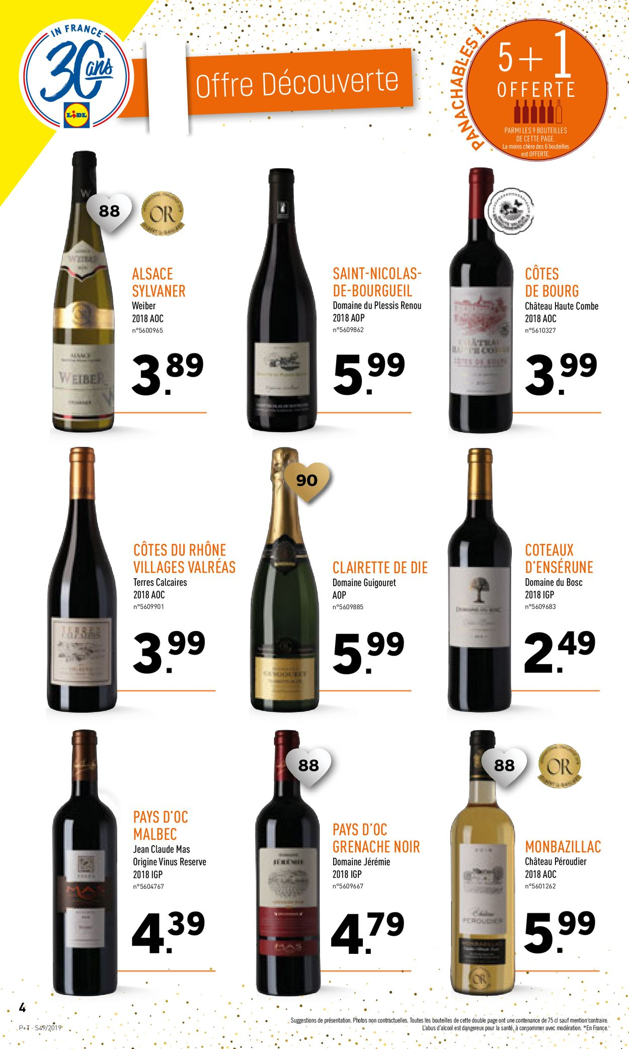 Lidl Catalogue - 04.12-10.12.2019 (Page 4)