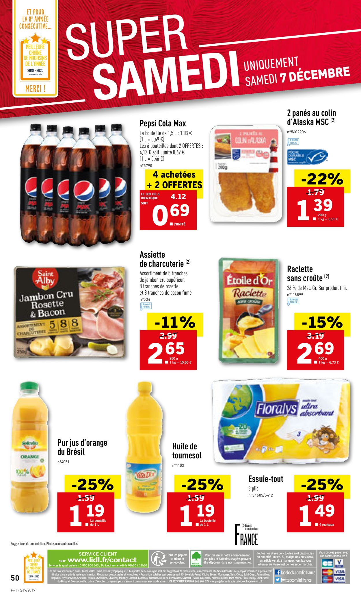 Lidl Catalogue - 04.12-10.12.2019 (Page 50)