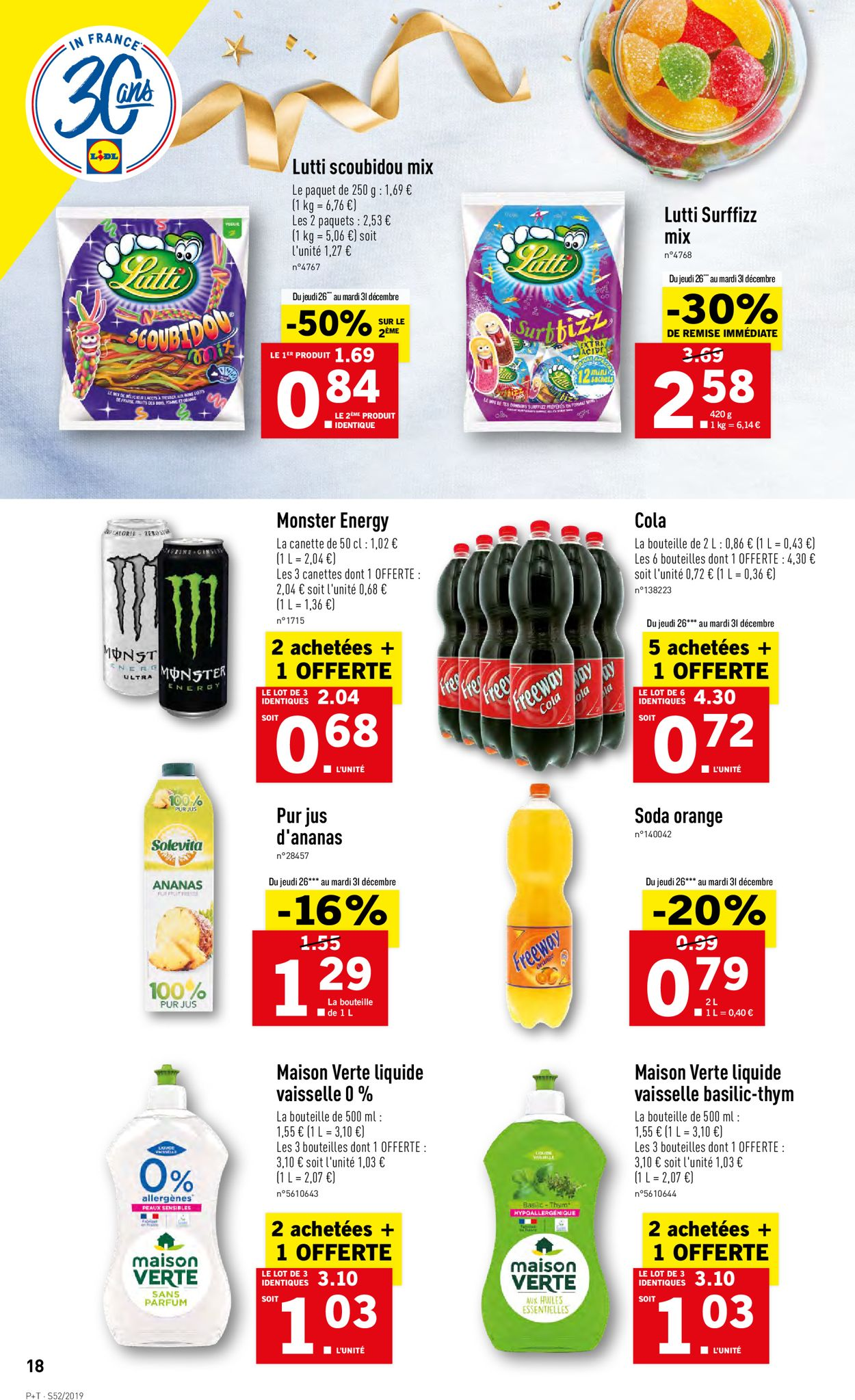 Lidl Catalogue - 26.12-31.12.2019 (Page 18)