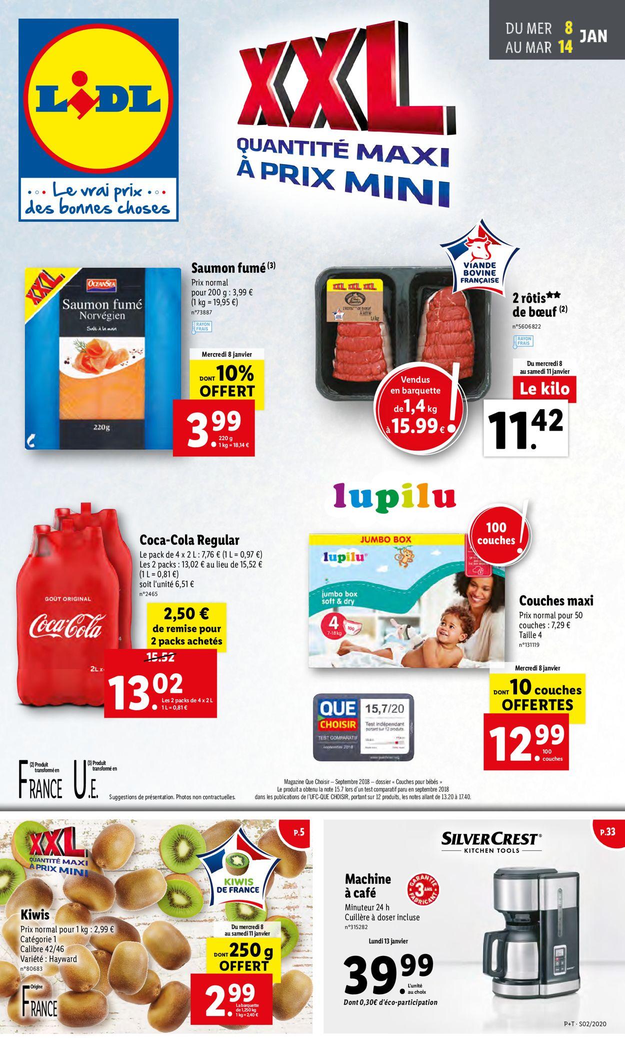 Lidl Catalogue - 08.01-14.01.2020